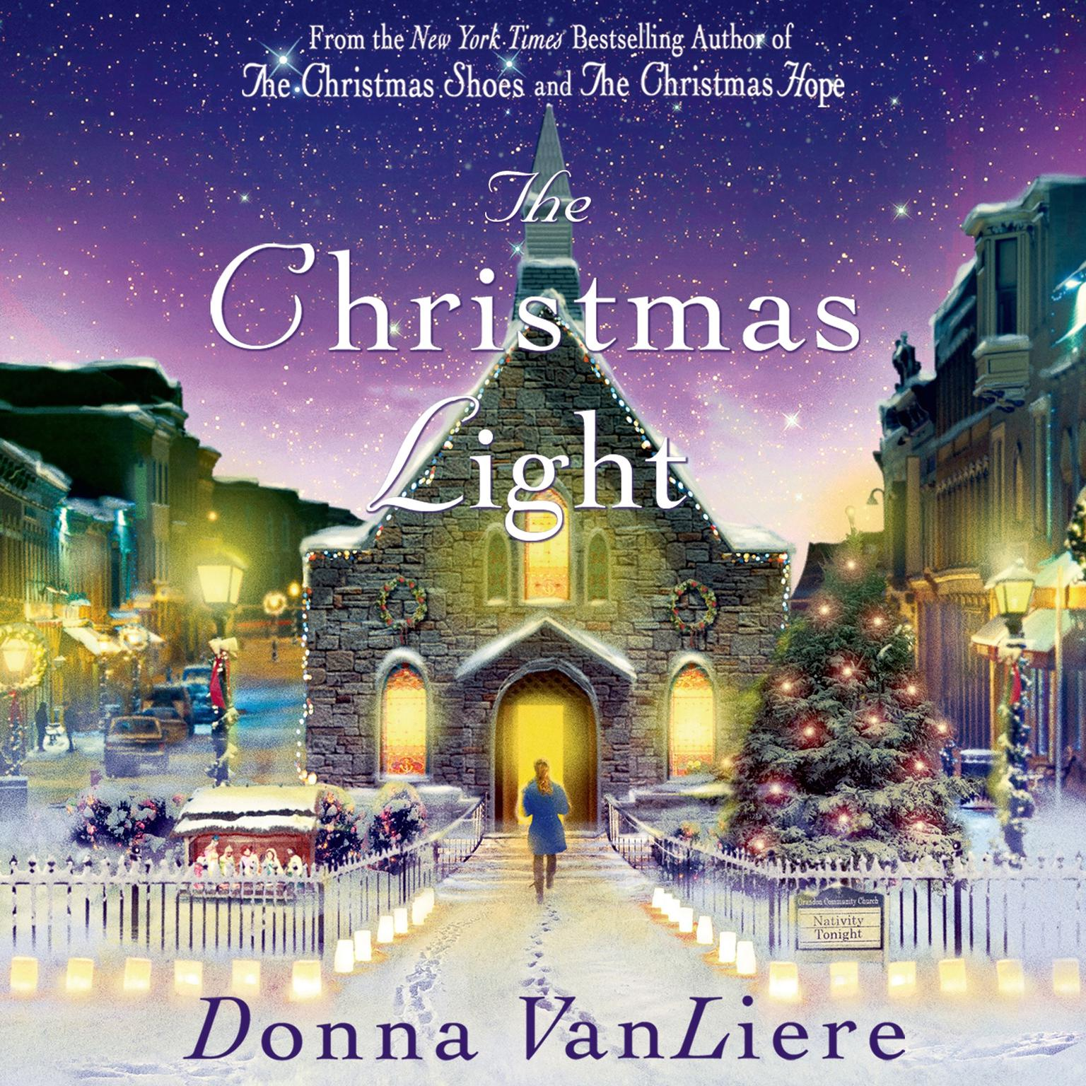Printable The Christmas Light Audiobook Cover Art