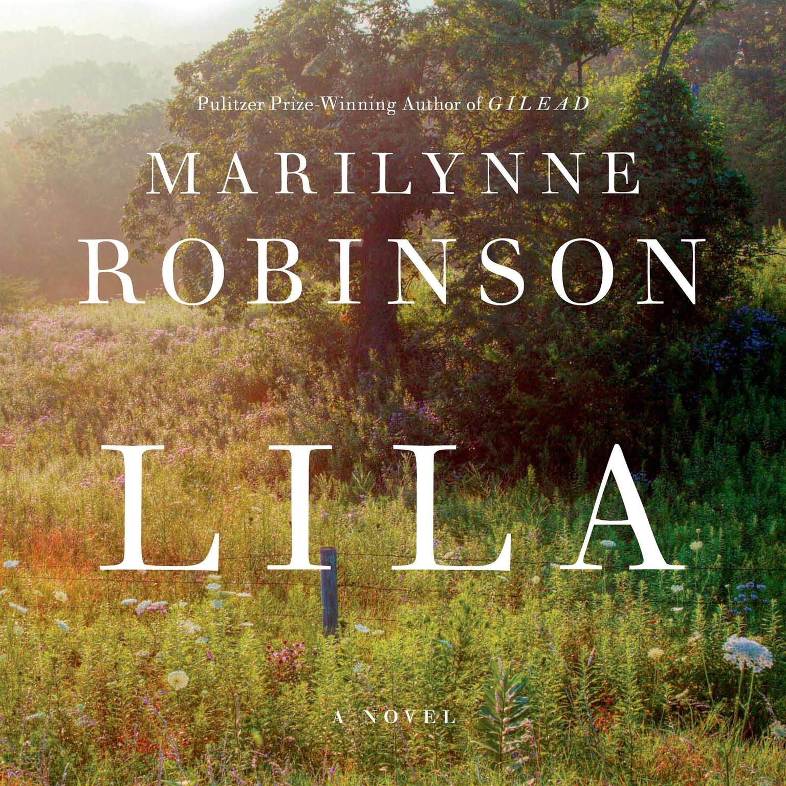 Printable Lila: A Novel Audiobook Cover Art