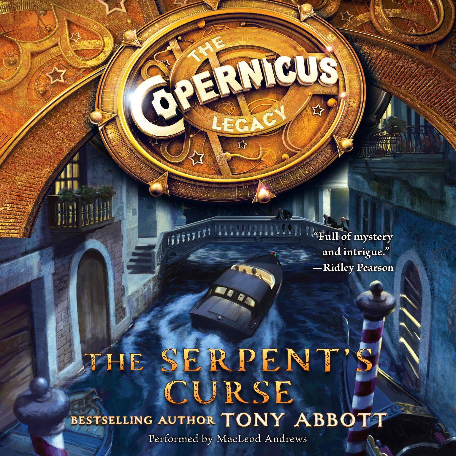 Printable The Serpent's Curse Audiobook Cover Art