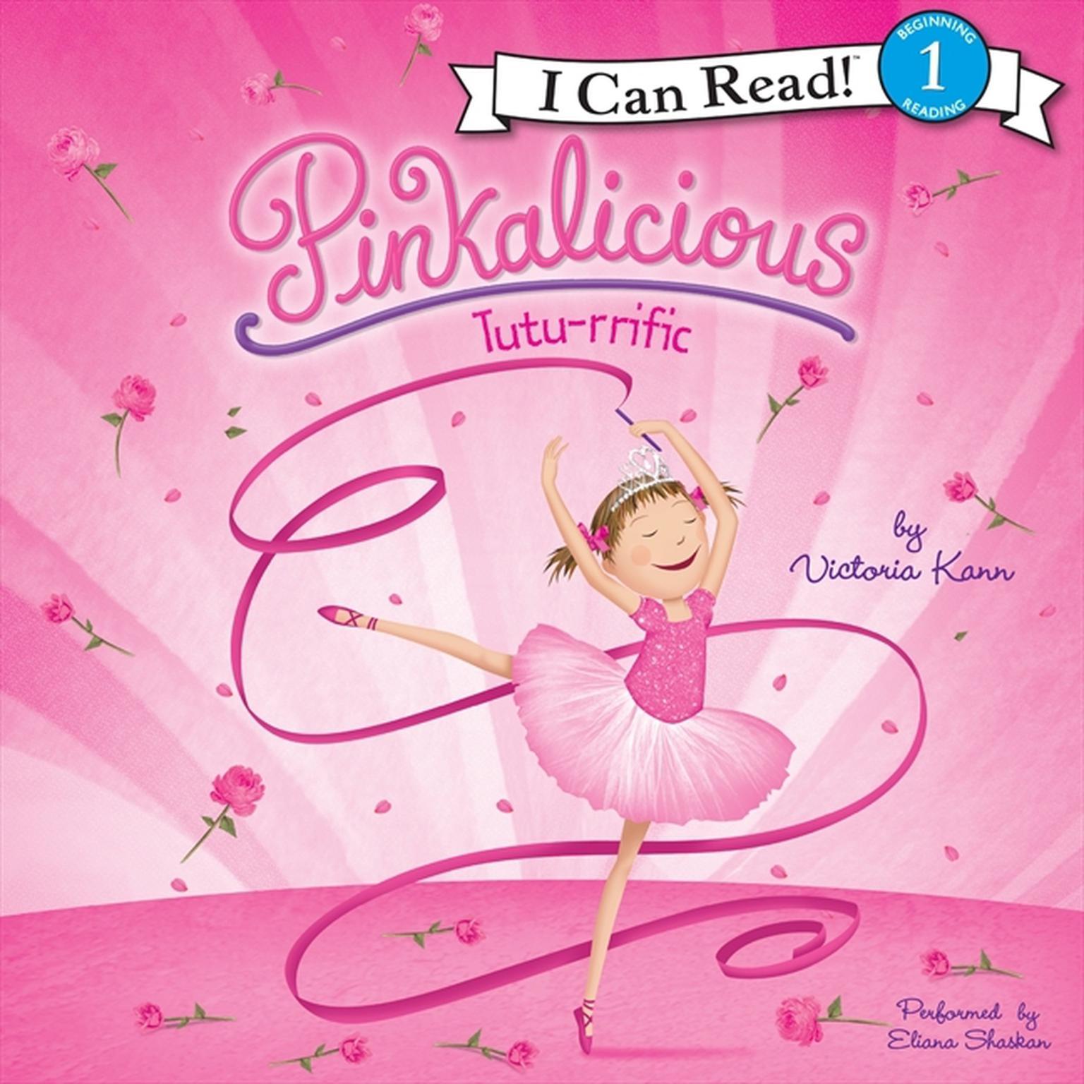 Printable Pinkalicious: Tutu-rrific Audiobook Cover Art