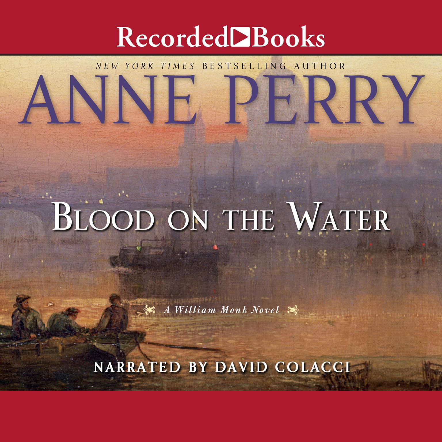 Printable Blood on the Water Audiobook Cover Art