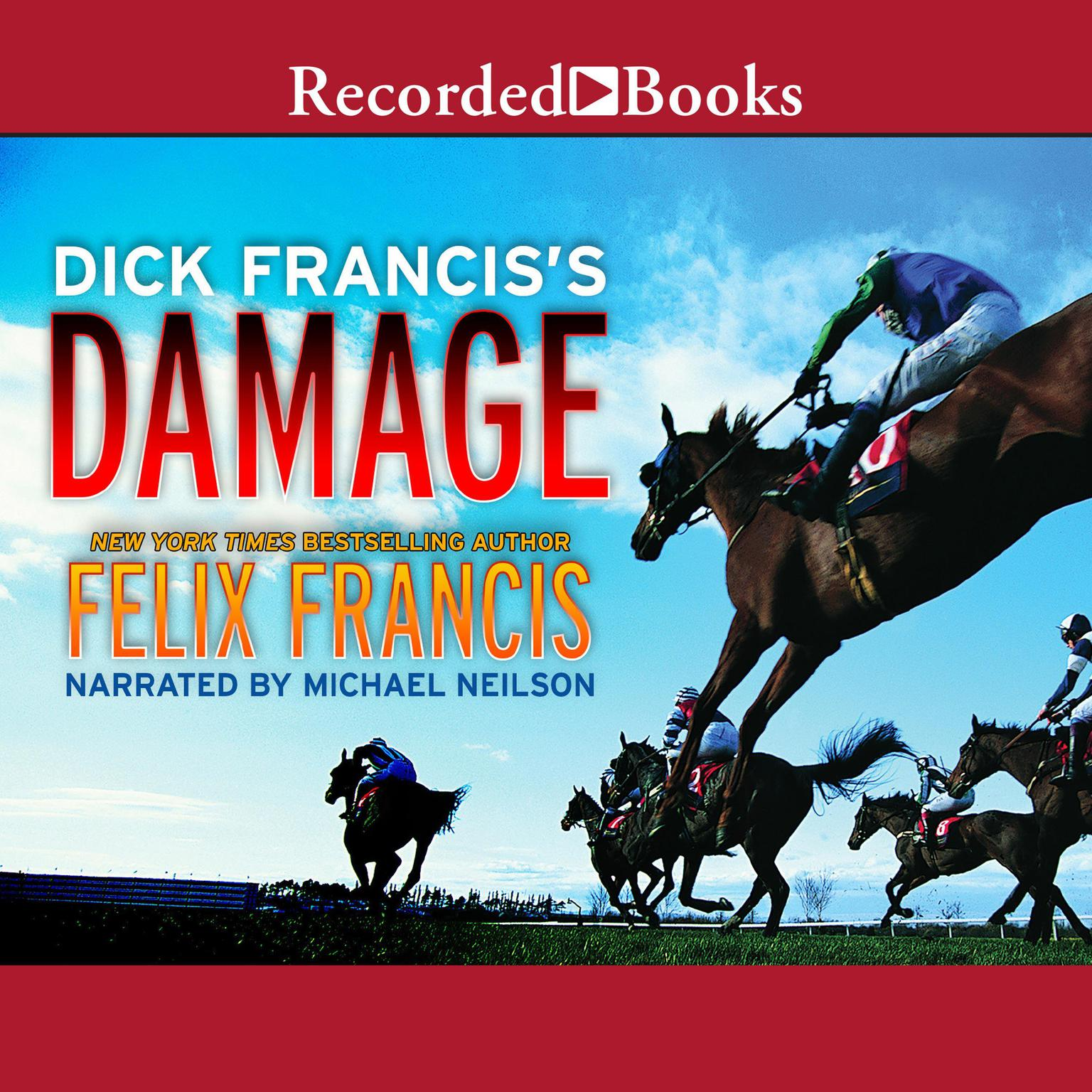Printable Dick Francis's Damage Audiobook Cover Art