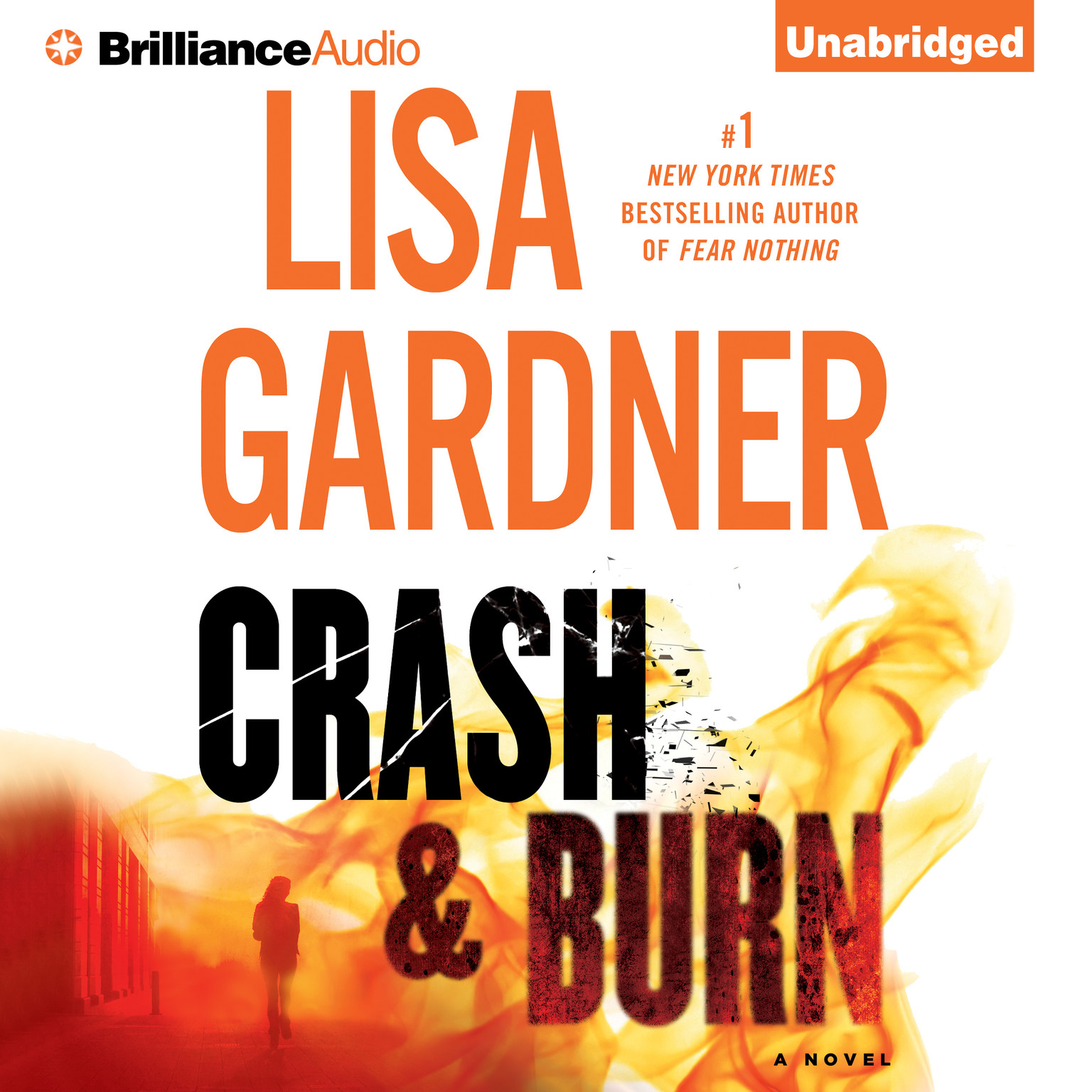 Printable Crash & Burn Audiobook Cover Art