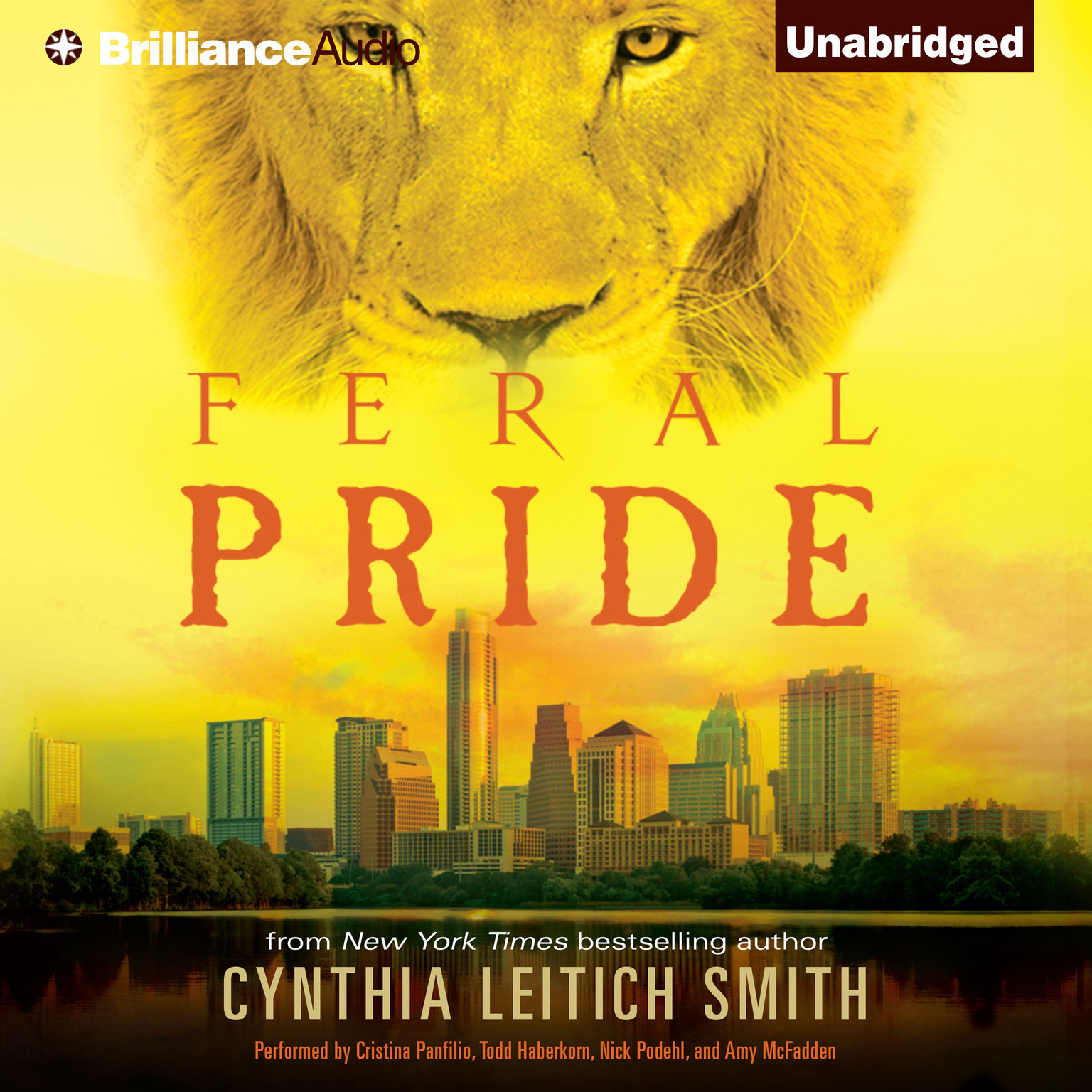 Printable Feral Pride Audiobook Cover Art