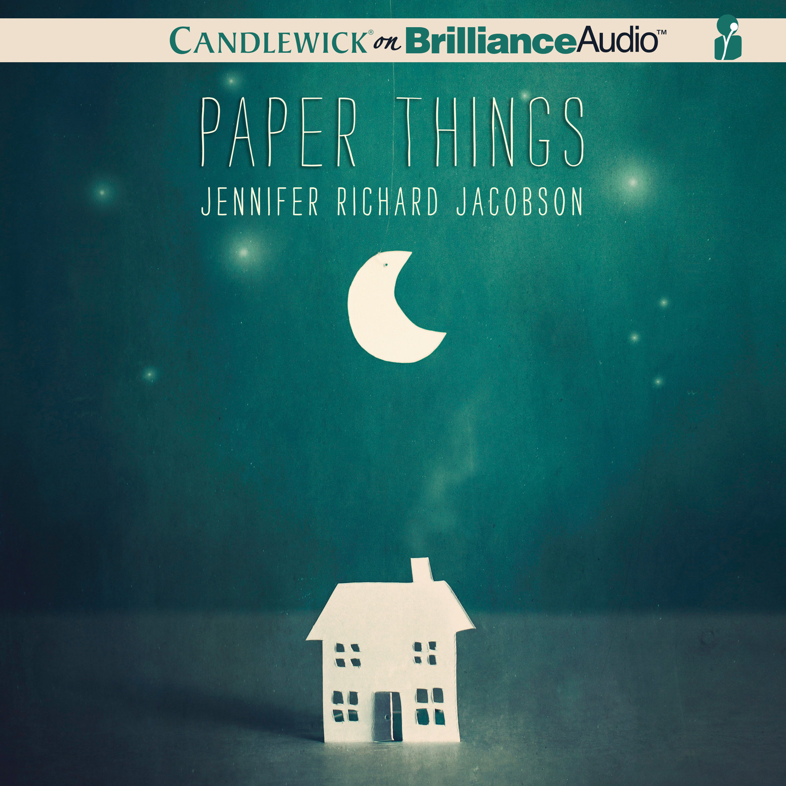 Printable Paper Things Audiobook Cover Art