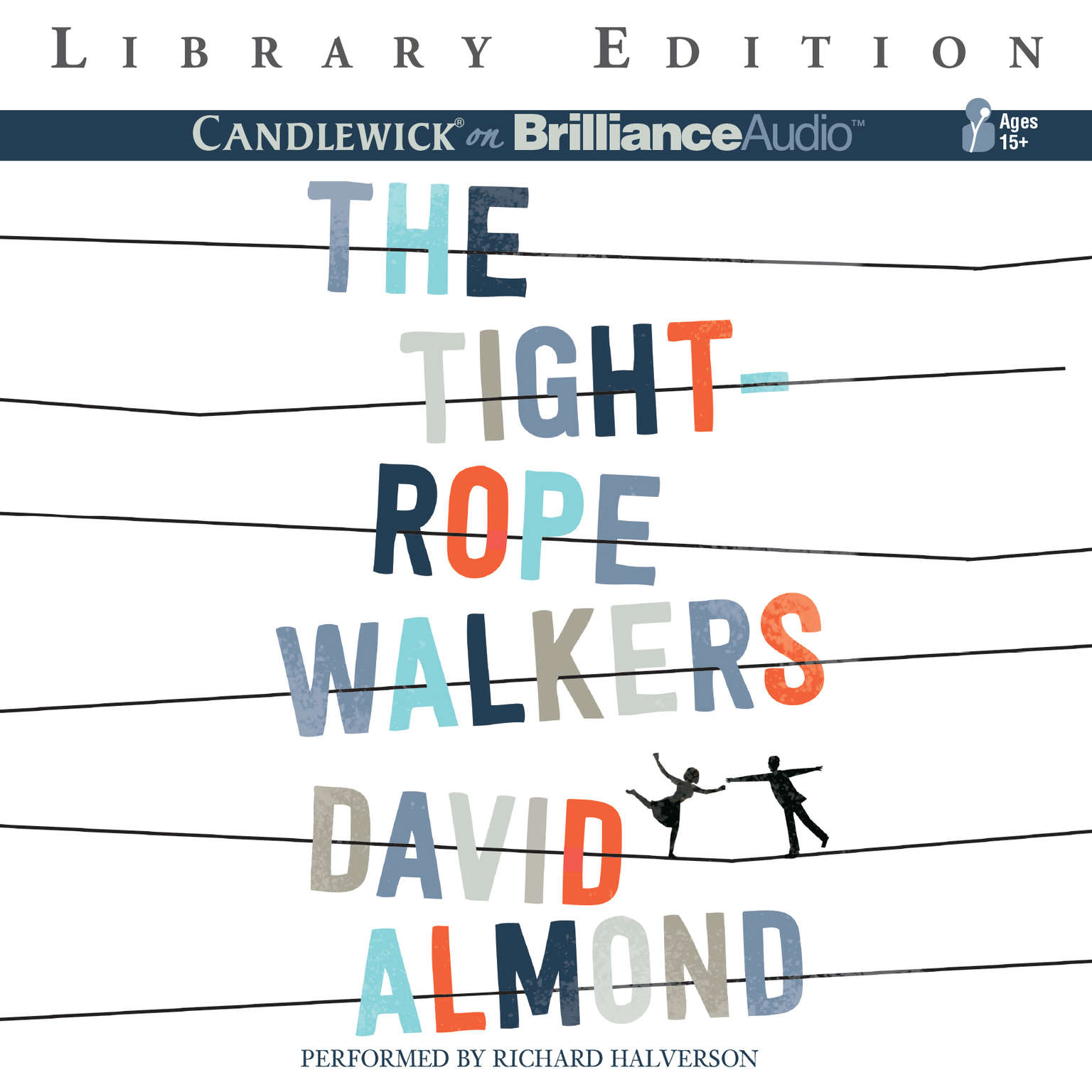 Printable The Tightrope Walkers Audiobook Cover Art