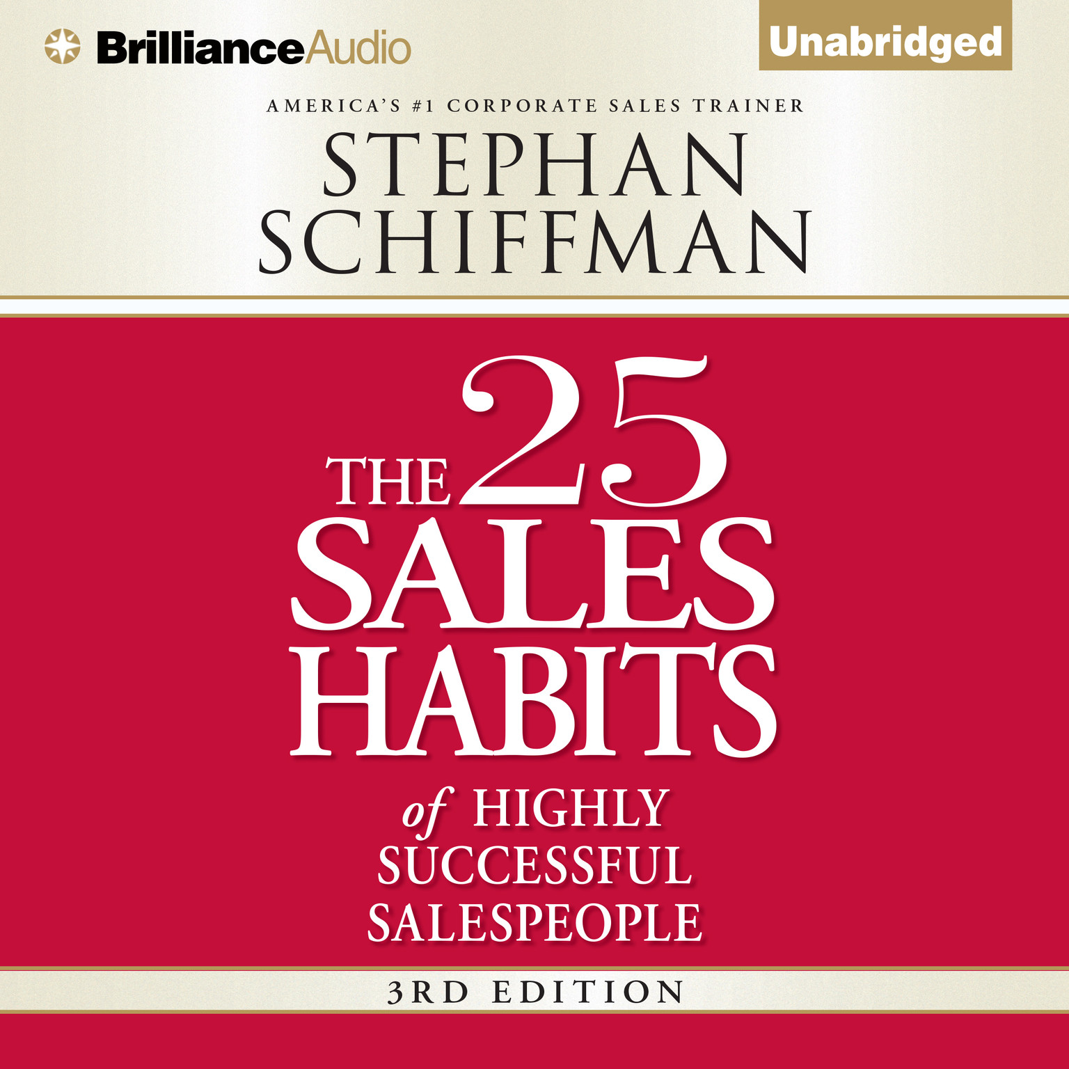 Printable The 25 Sales Habits of Highly Successful Salespeople Audiobook Cover Art