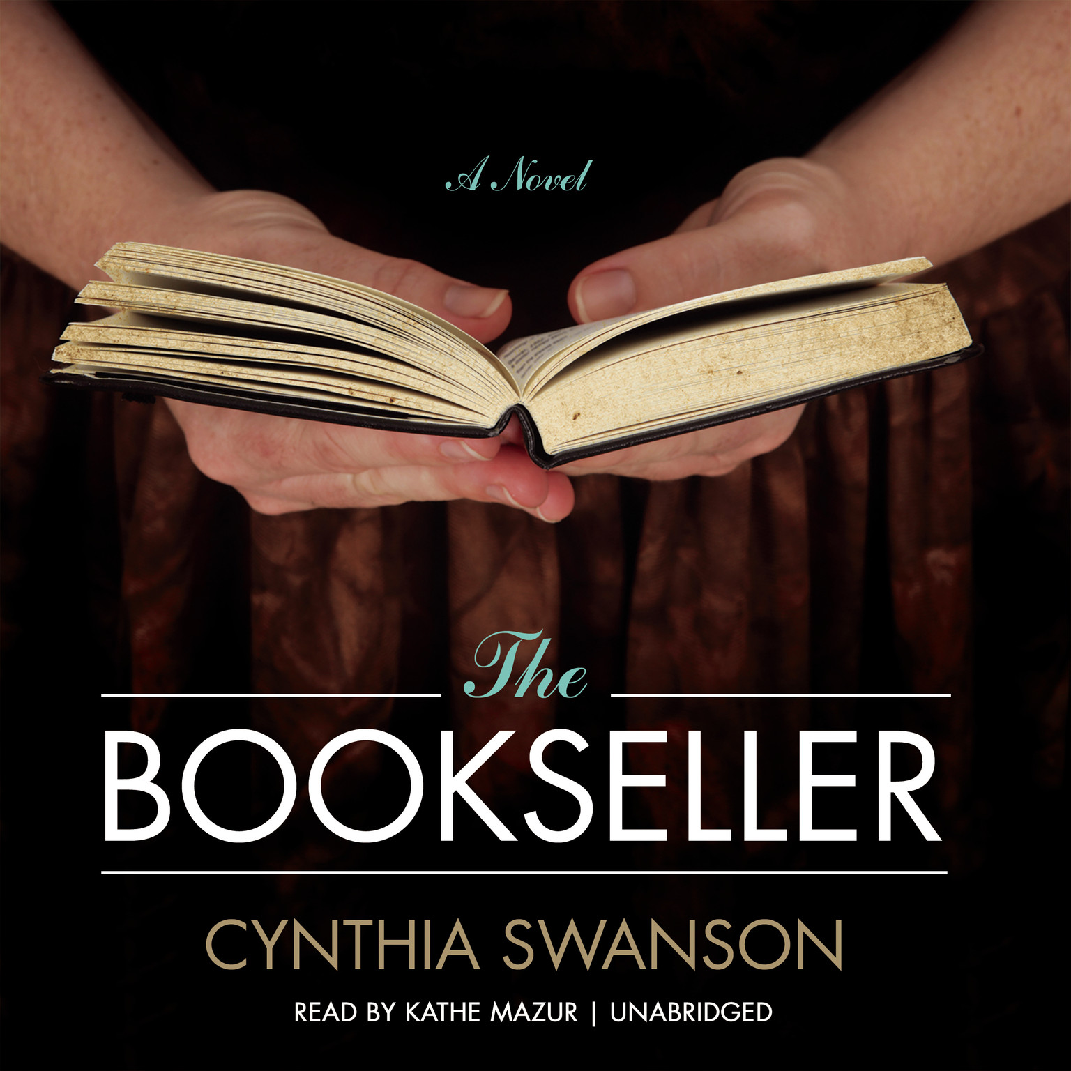 Printable The Bookseller: A Novel Audiobook Cover Art