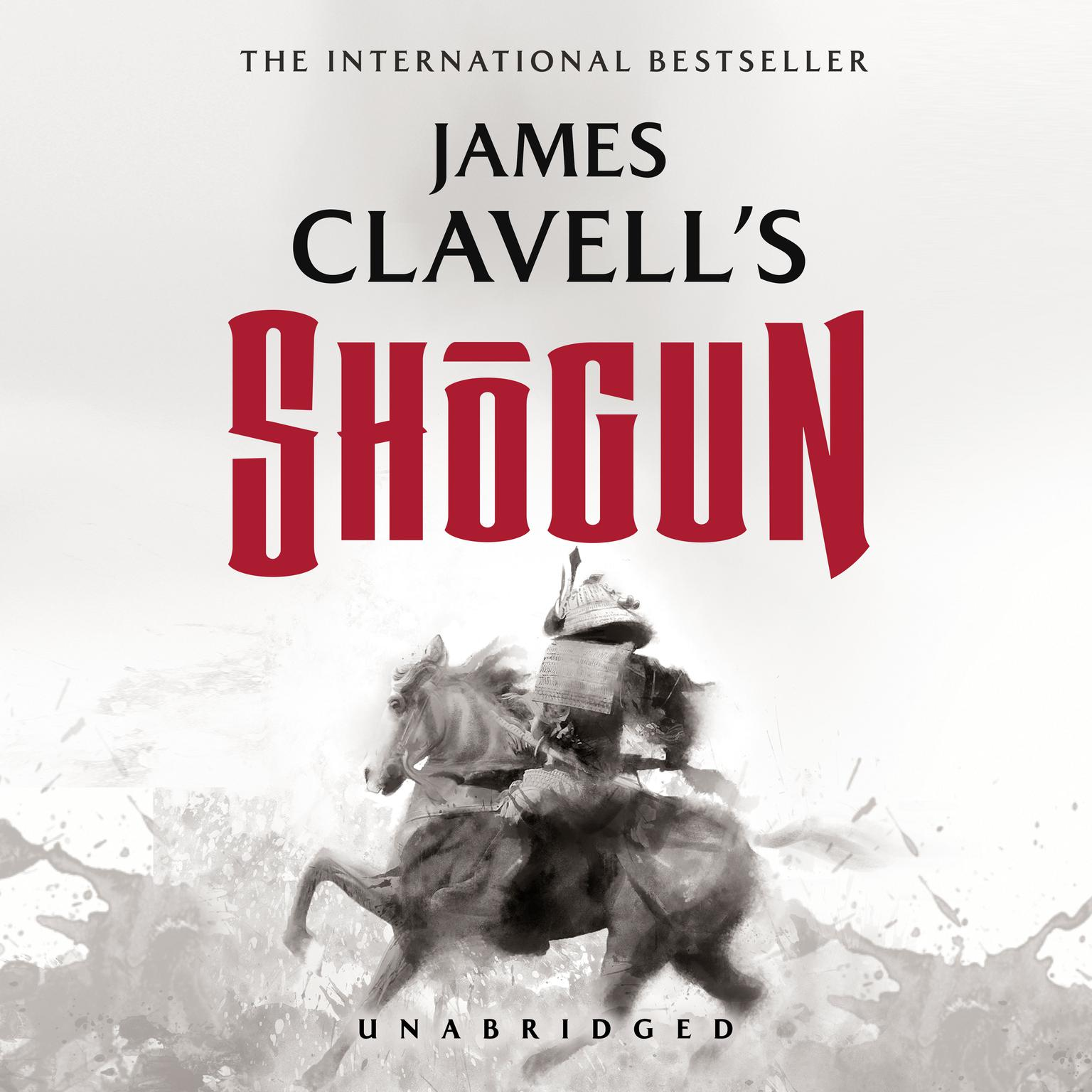 Printable Shogun: The Epic Novel of Japan Audiobook Cover Art
