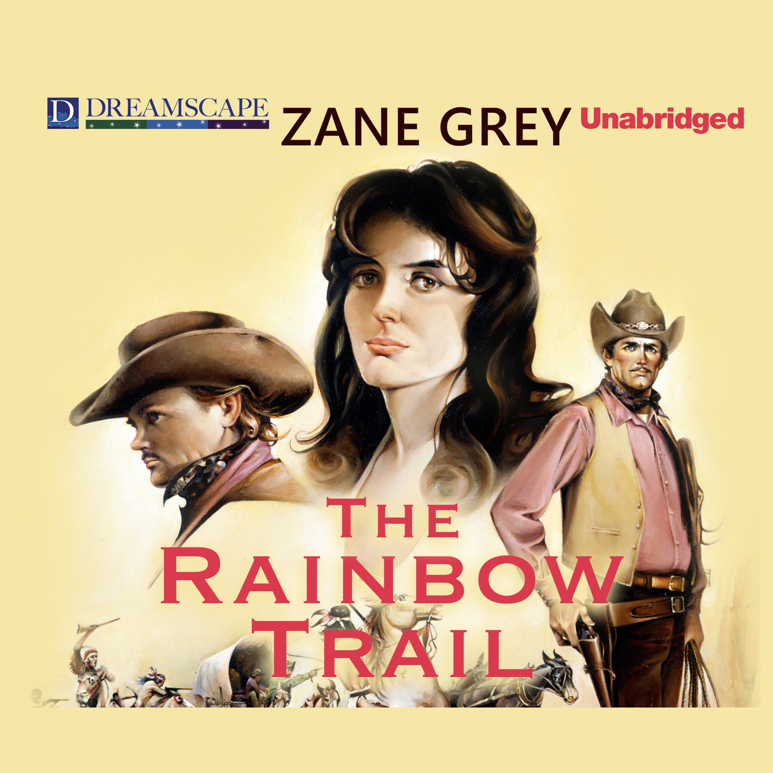 Printable The Rainbow Trail Audiobook Cover Art