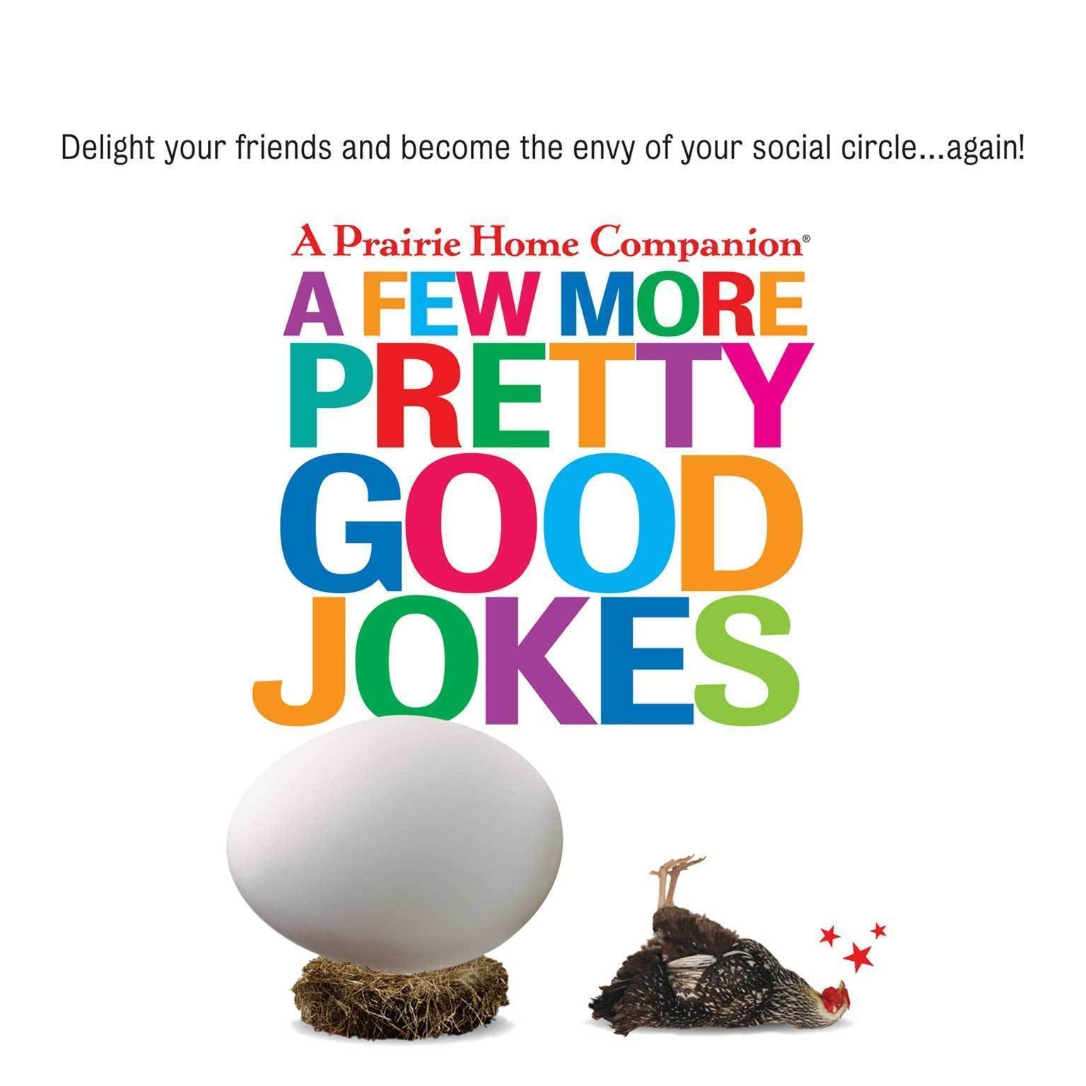 Printable A Few More Pretty Good Jokes Audiobook Cover Art