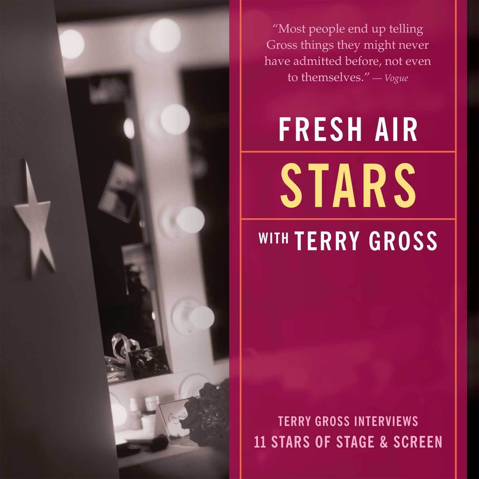 Printable Fresh Air: Stars: Terry Gross Interviews Eleven Stars of Stage and Screen Audiobook Cover Art