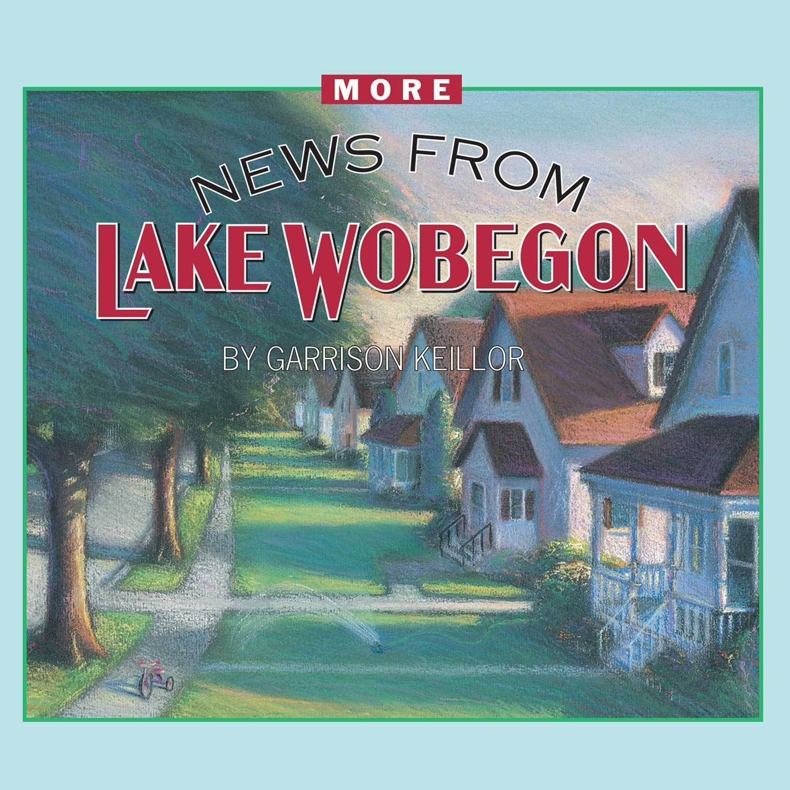 Printable More News from Lake Wobegon Audiobook Cover Art