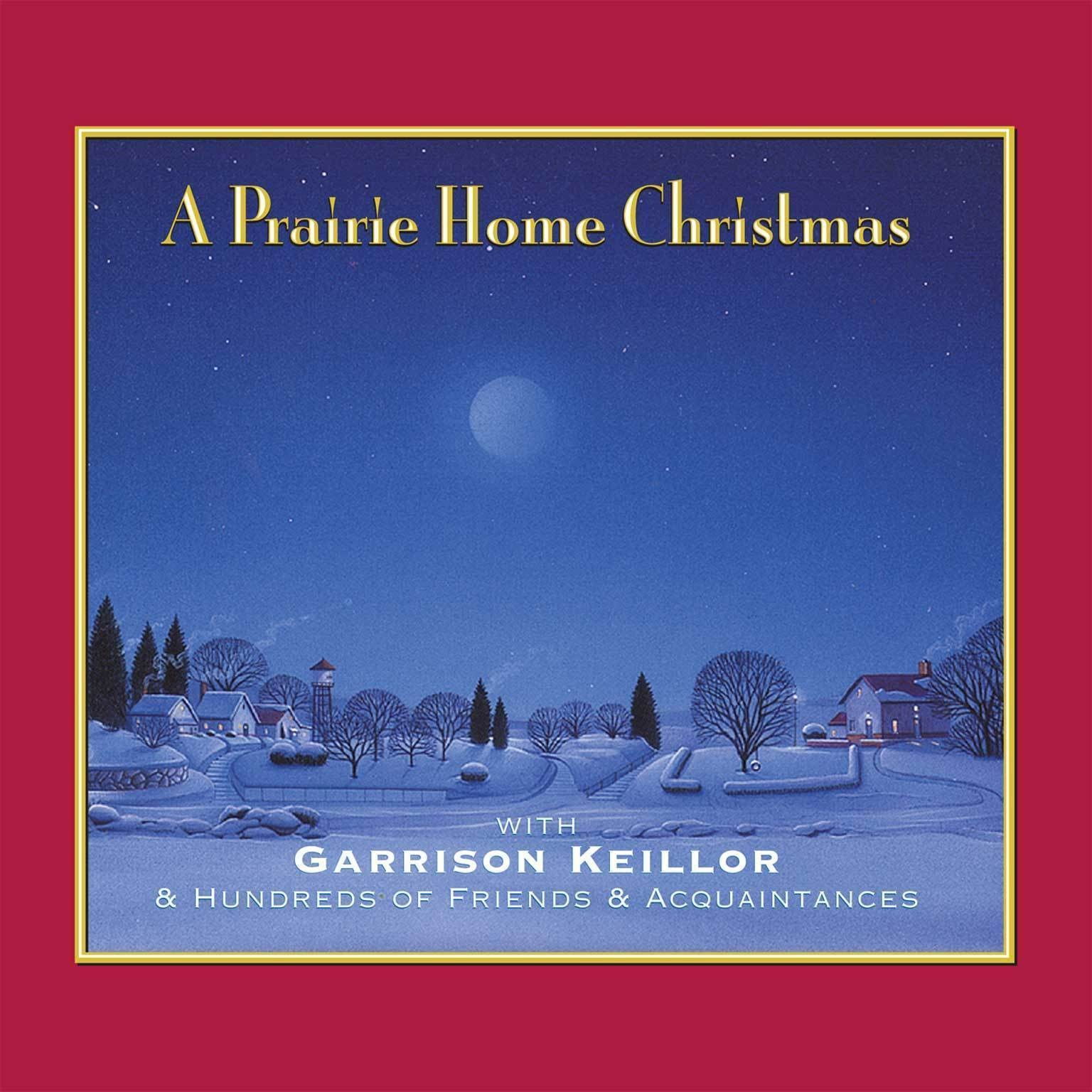Printable A Prairie Home Christmas Audiobook Cover Art