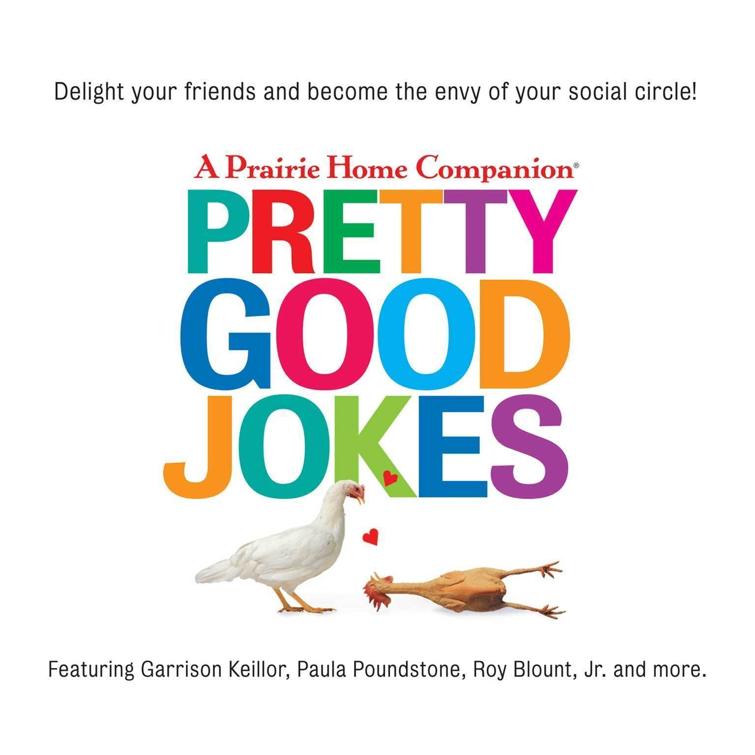 Printable Pretty Good Jokes Audiobook Cover Art