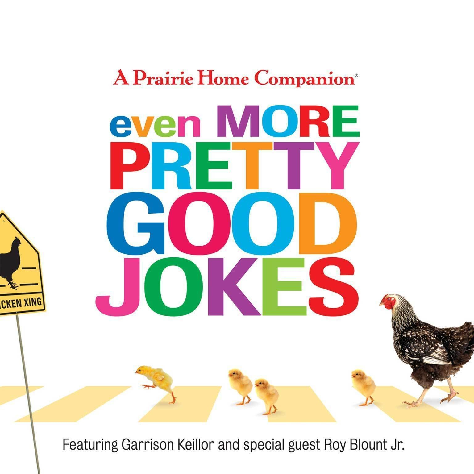 Printable Even More Pretty Good Jokes Audiobook Cover Art