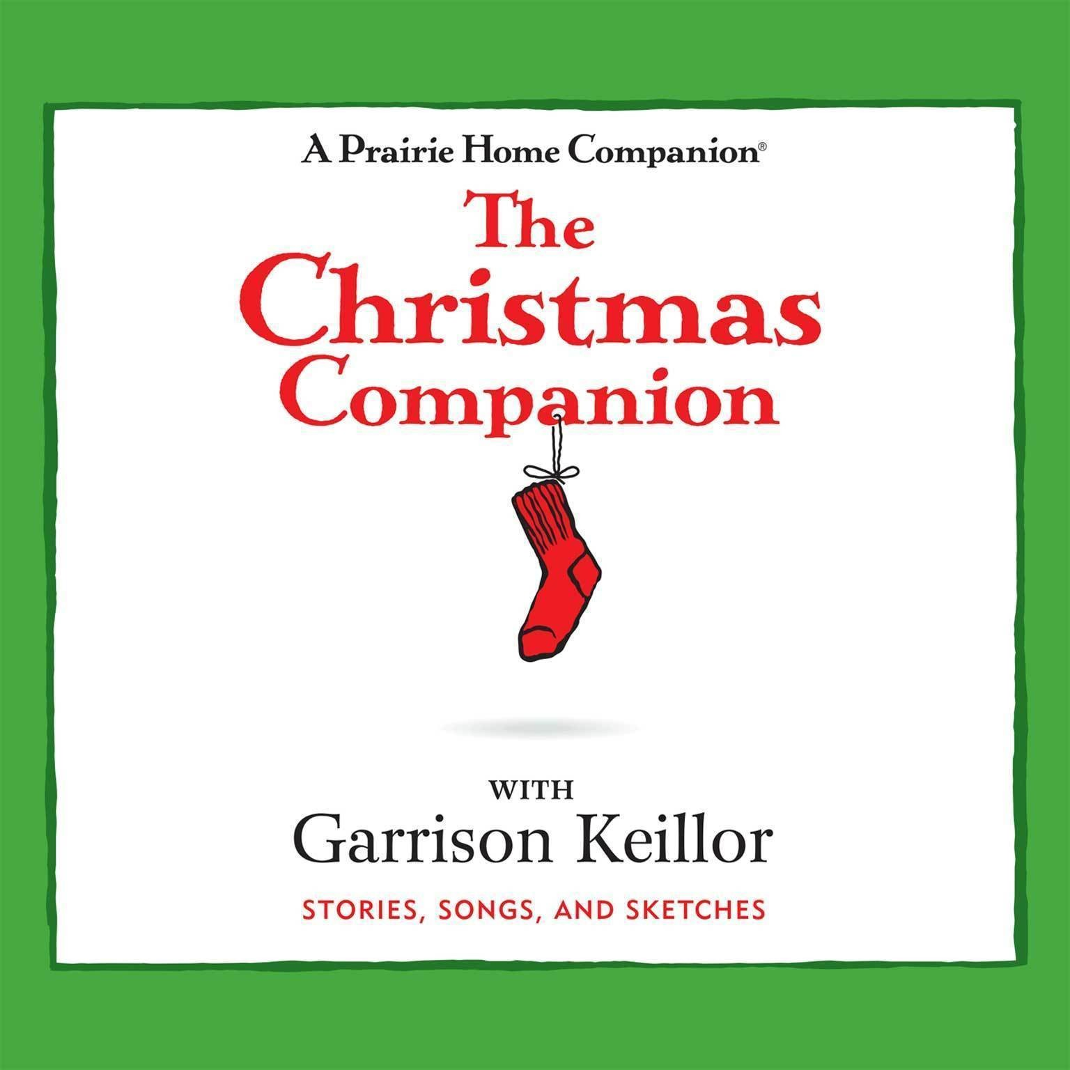 Printable The Christmas Companion: Stories, Songs, and Sketches Audiobook Cover Art