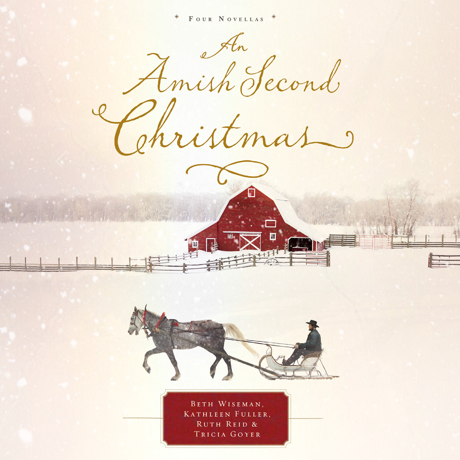 Printable An Amish Second Christmas Audiobook Cover Art