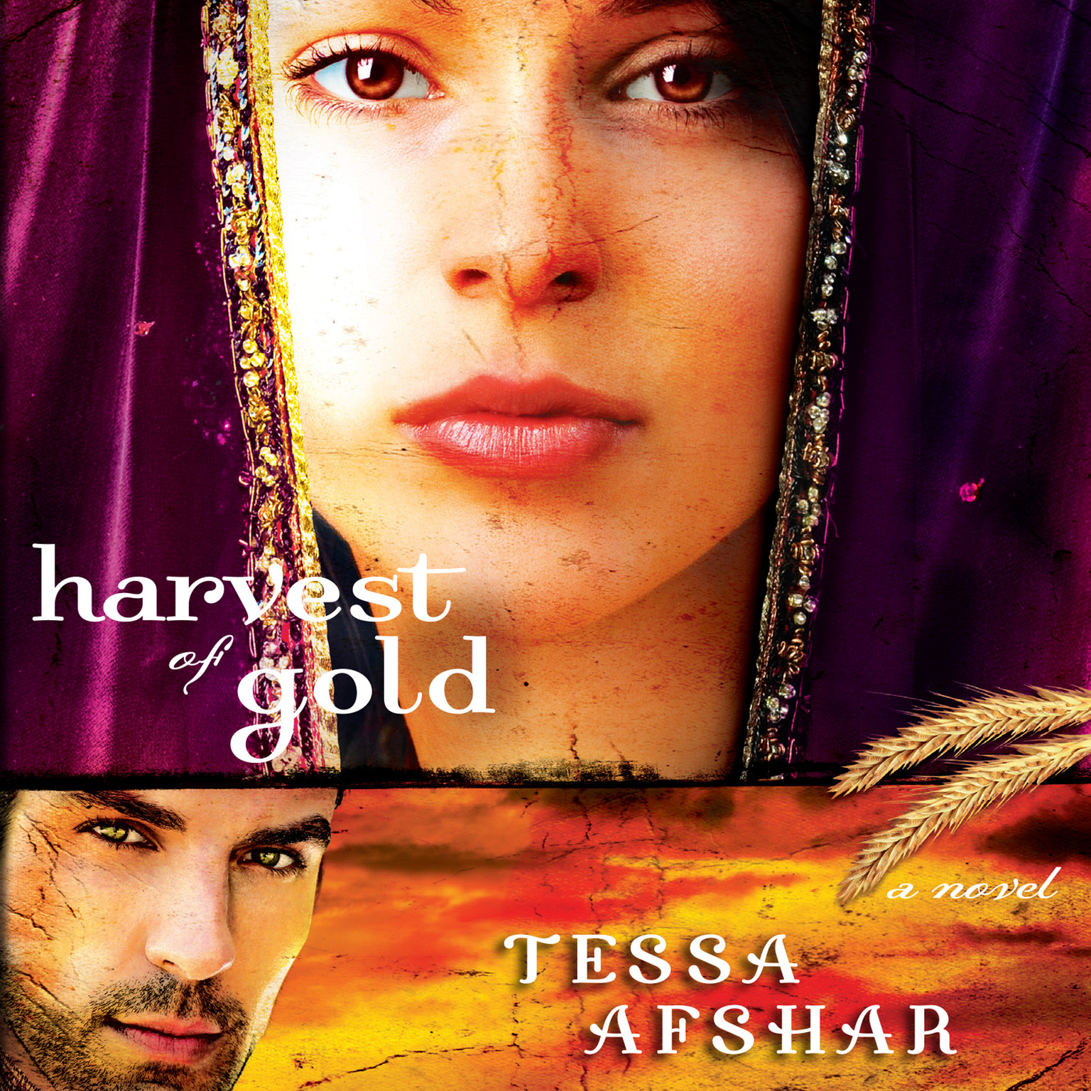 Printable Harvest of Gold Audiobook Cover Art