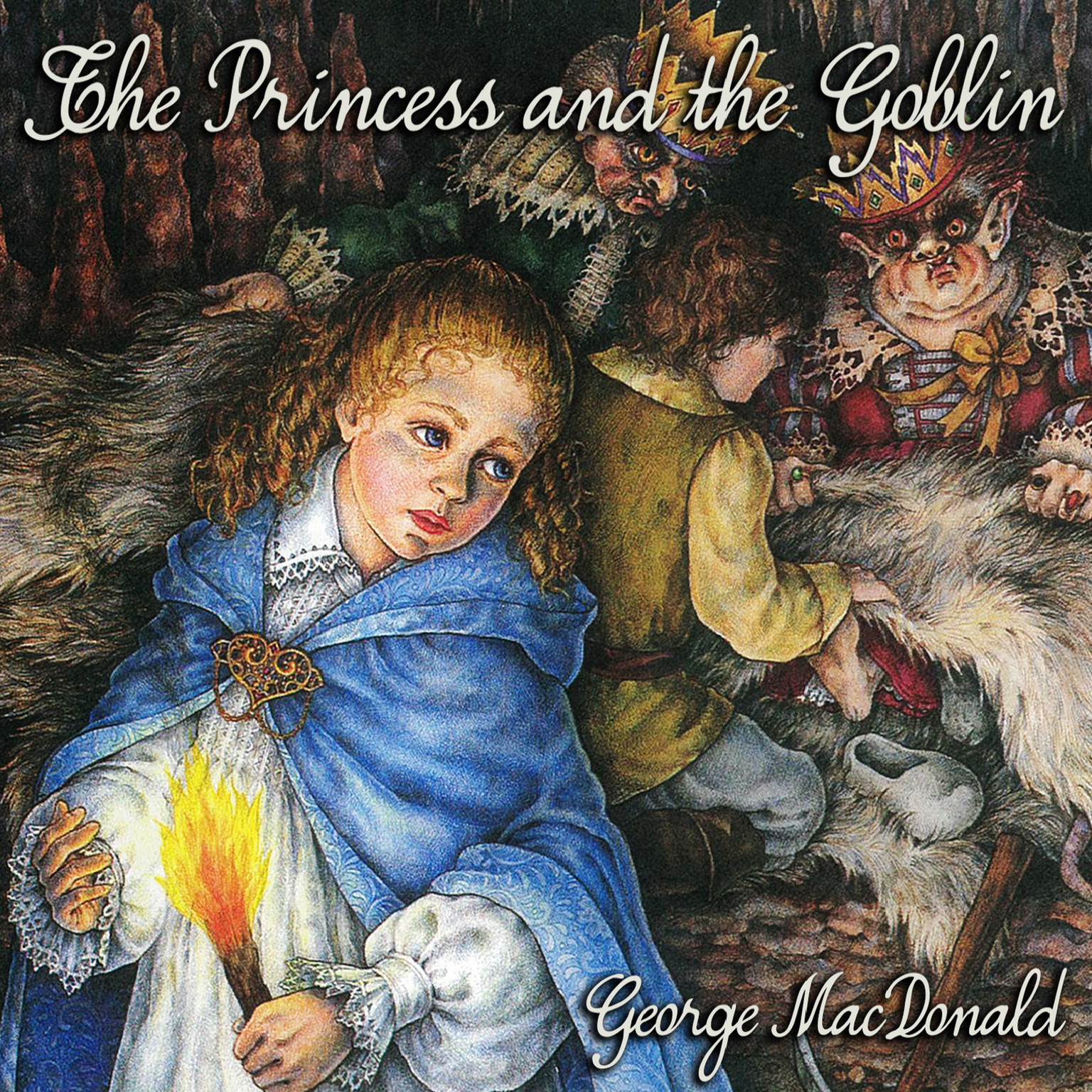 Printable The Princess and the Goblin Audiobook Cover Art