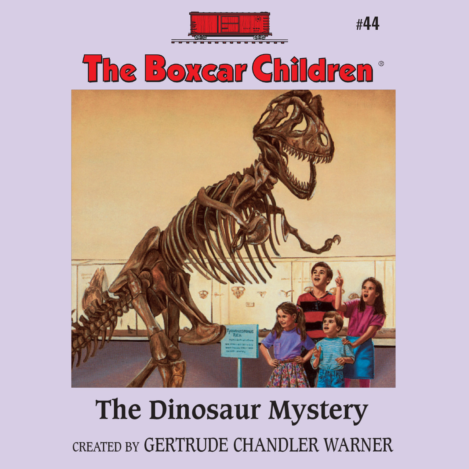 Printable The Dinosaur Mystery Audiobook Cover Art