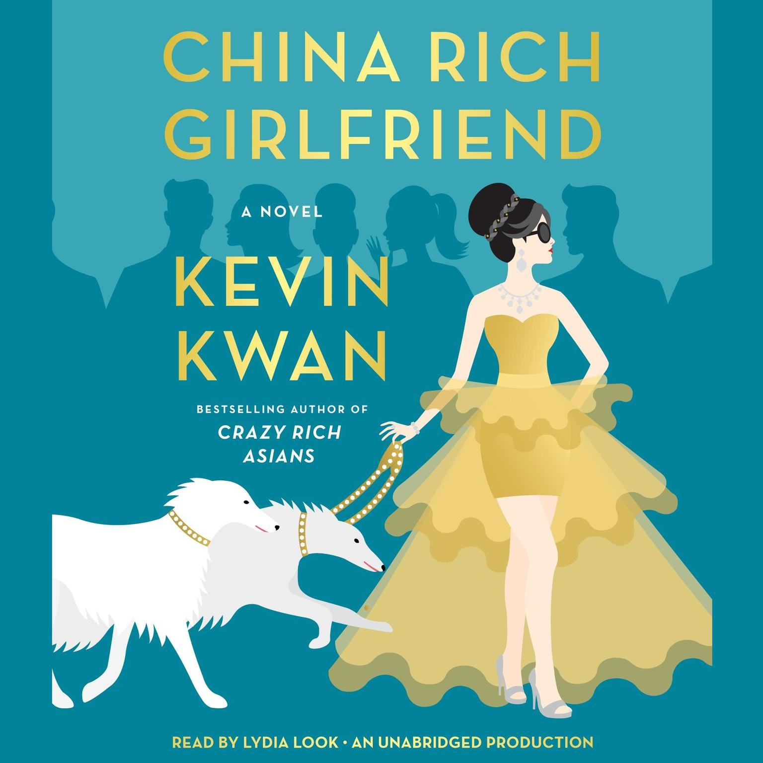 Printable China Rich Girlfriend: A Novel Audiobook Cover Art