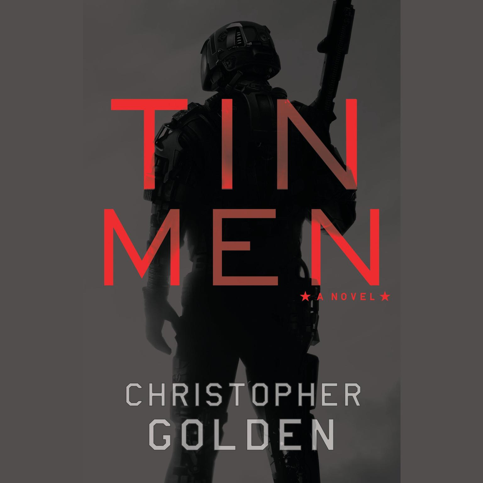 Printable Tin Men: A Novel Audiobook Cover Art