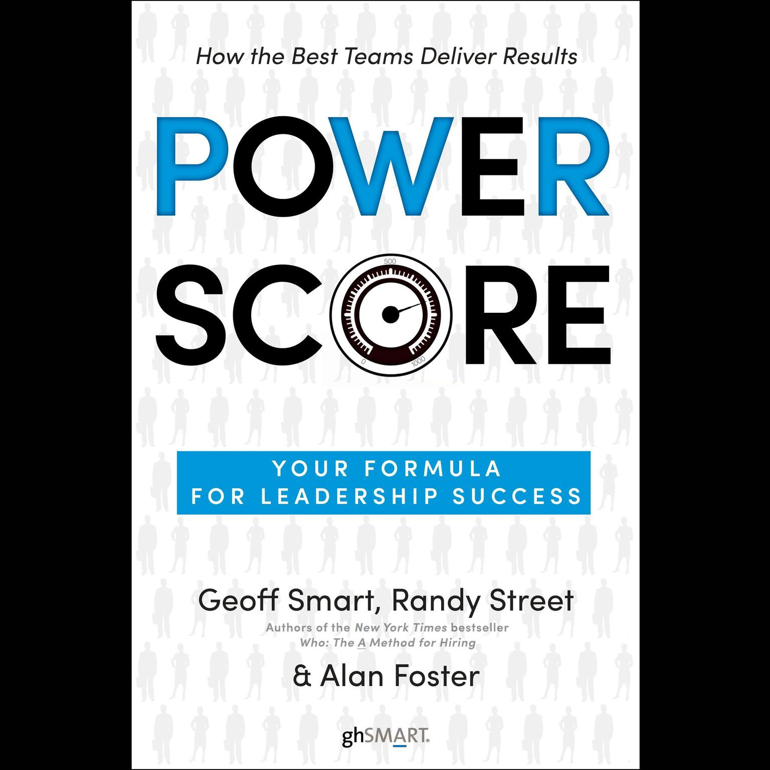 Printable Power Score: Your Formula for Leadership Success Audiobook Cover Art