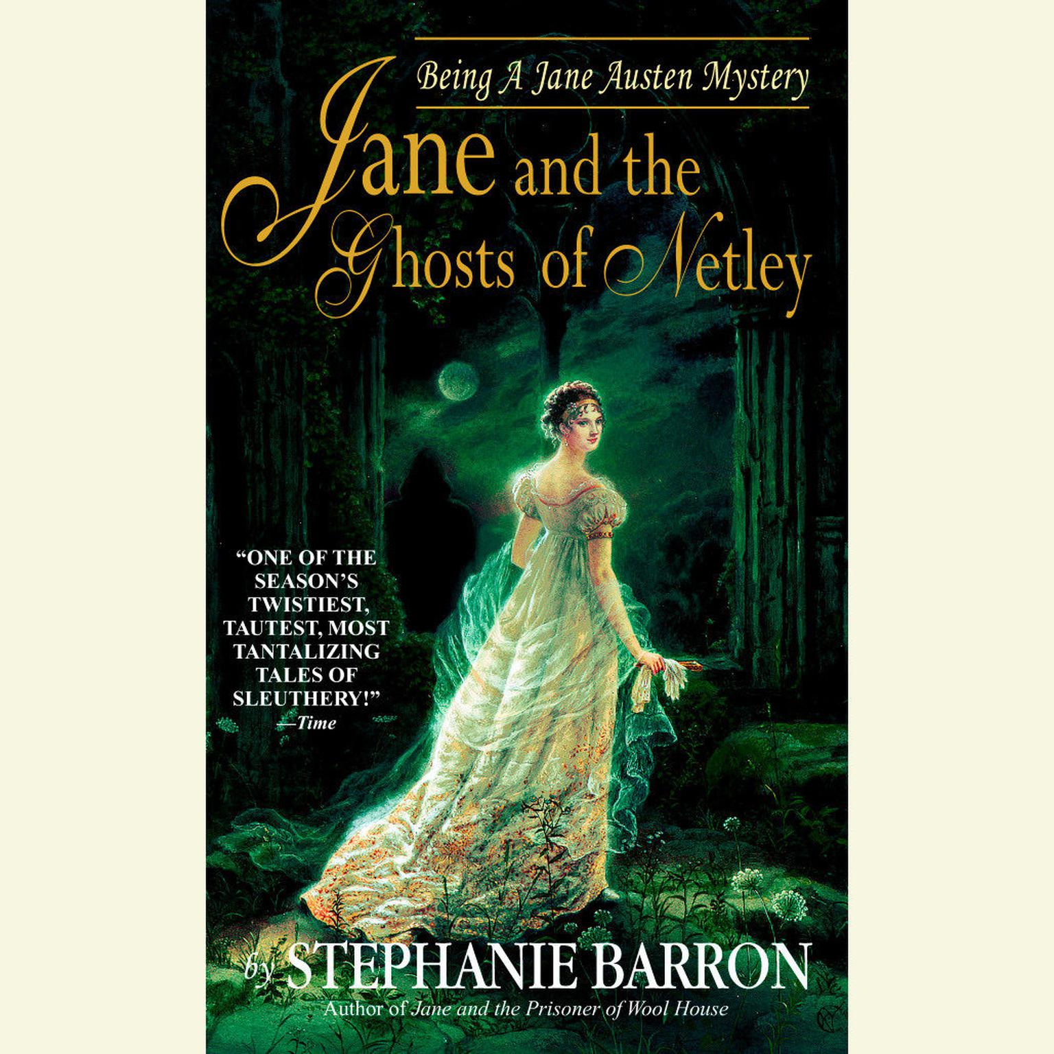 Printable Jane and the Ghosts of Netley Audiobook Cover Art