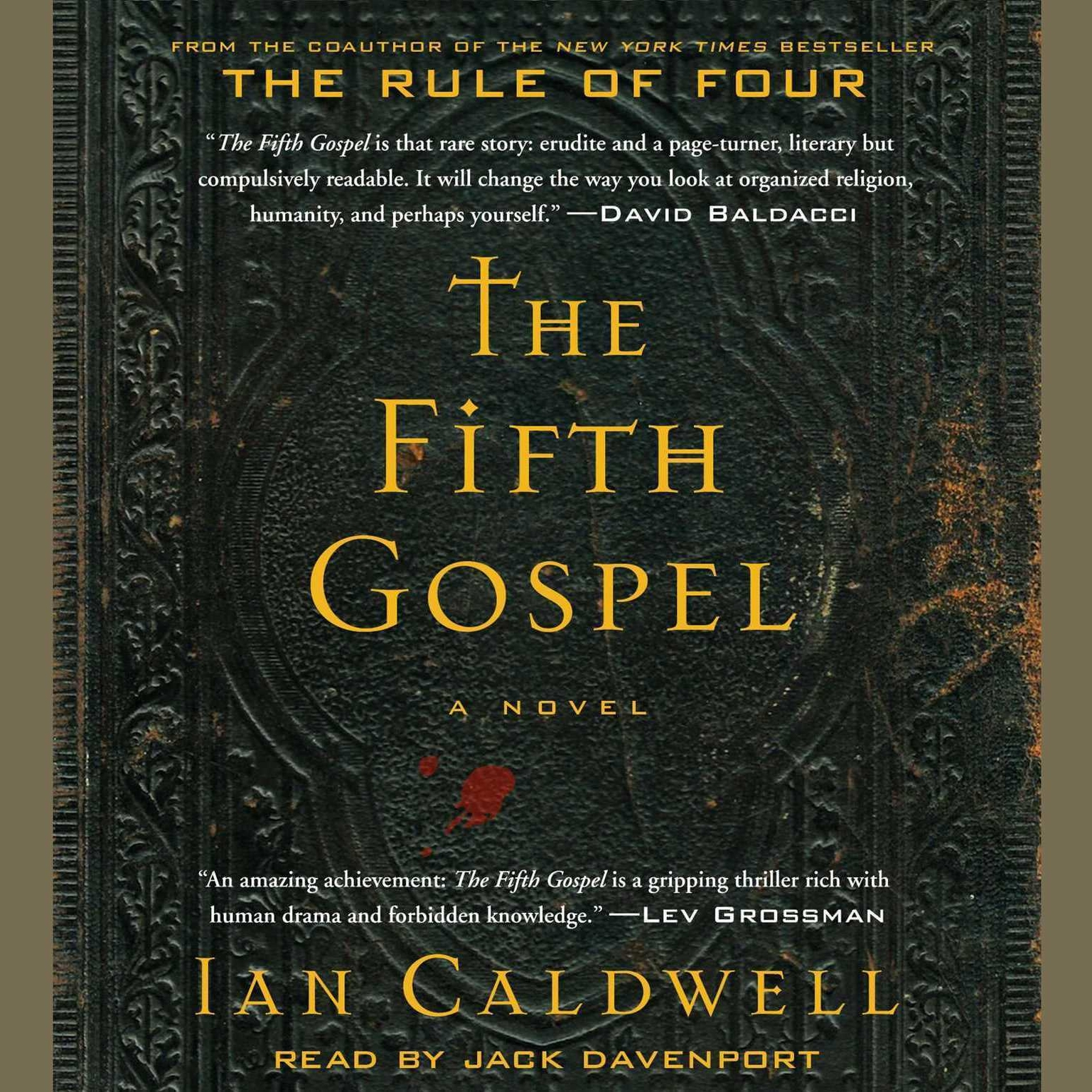 Printable The Fifth Gospel: A Novel Audiobook Cover Art