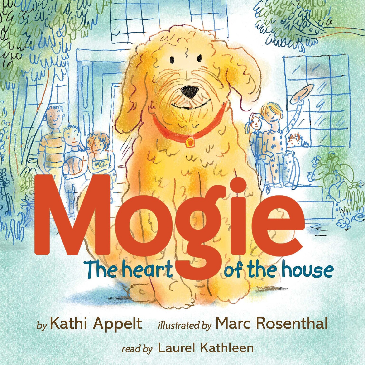 Printable Mogie: The Heart of the House Audiobook Cover Art