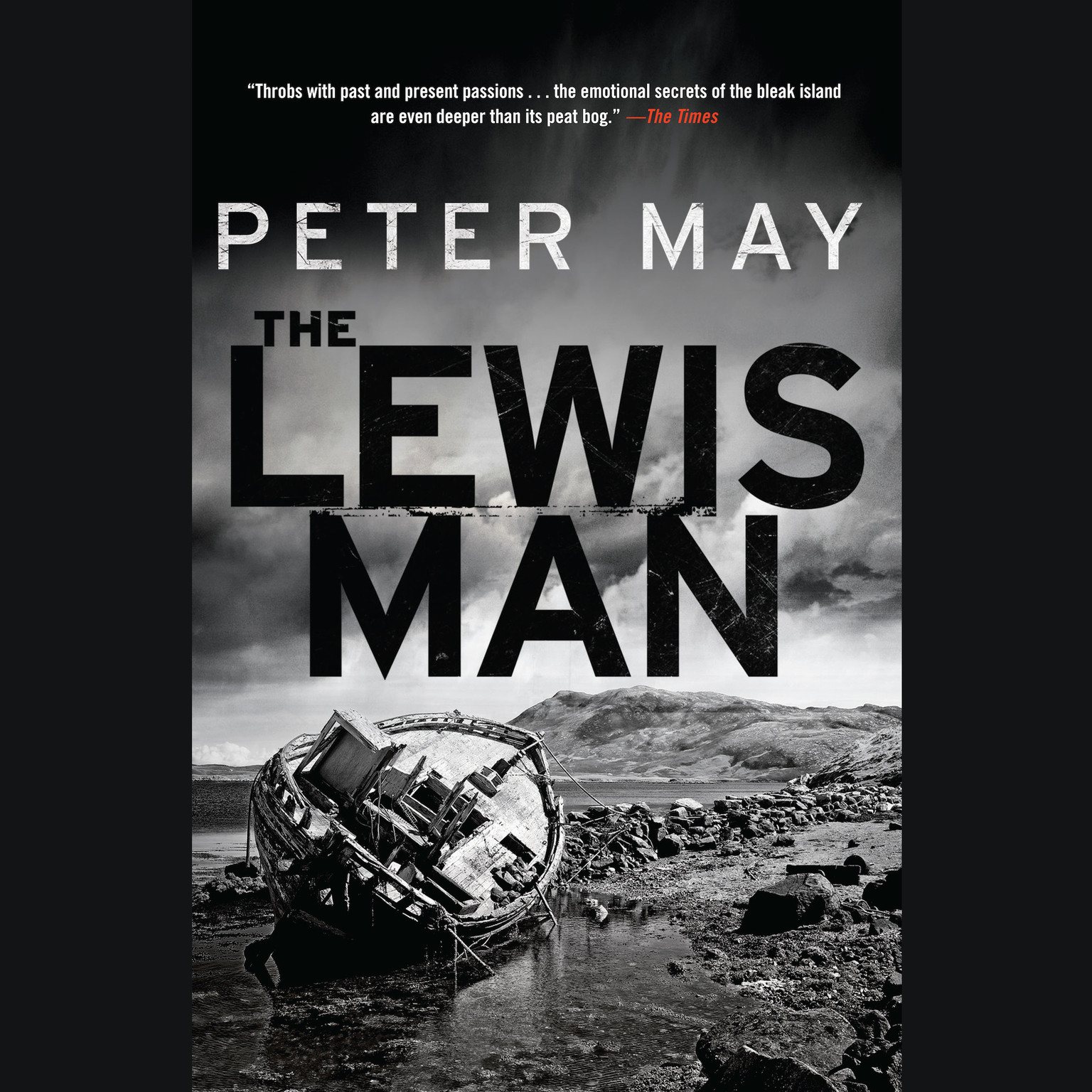 Printable The Lewis Man Audiobook Cover Art