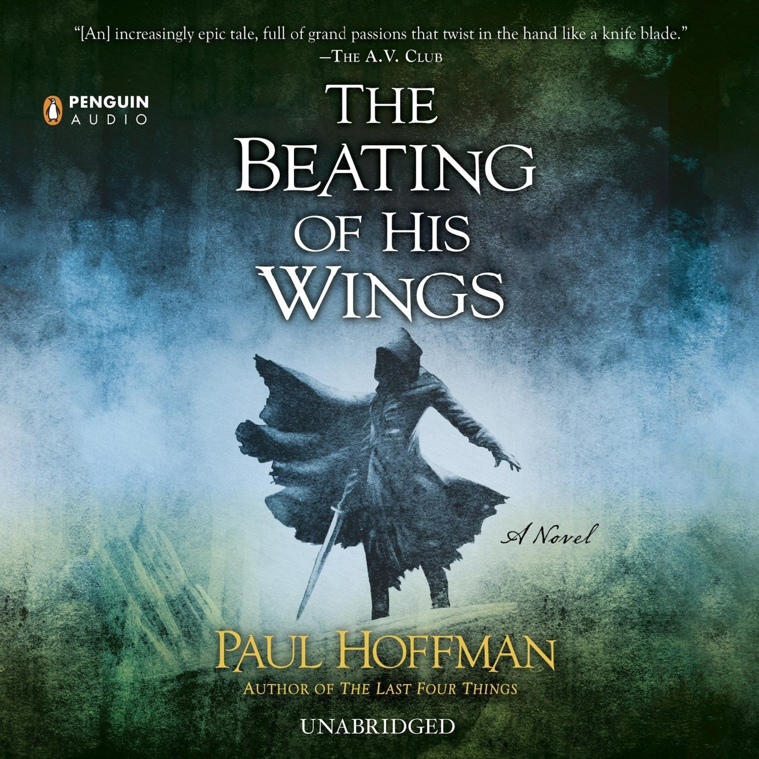 Printable The Beating of His Wings Audiobook Cover Art