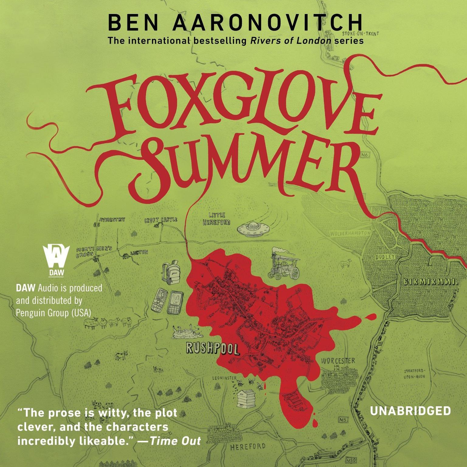 Printable Foxglove Summer: A Rivers of London Novel Audiobook Cover Art