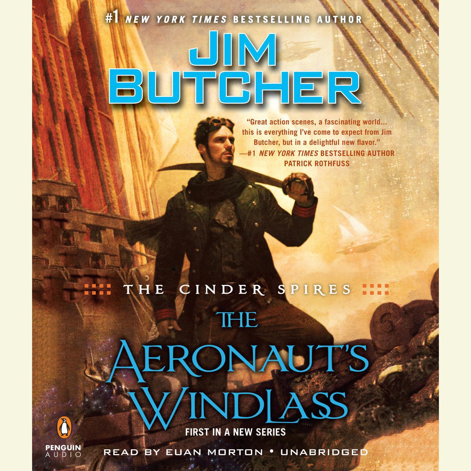Printable The Cinder Spires: The Aeronaut's Windlass Audiobook Cover Art