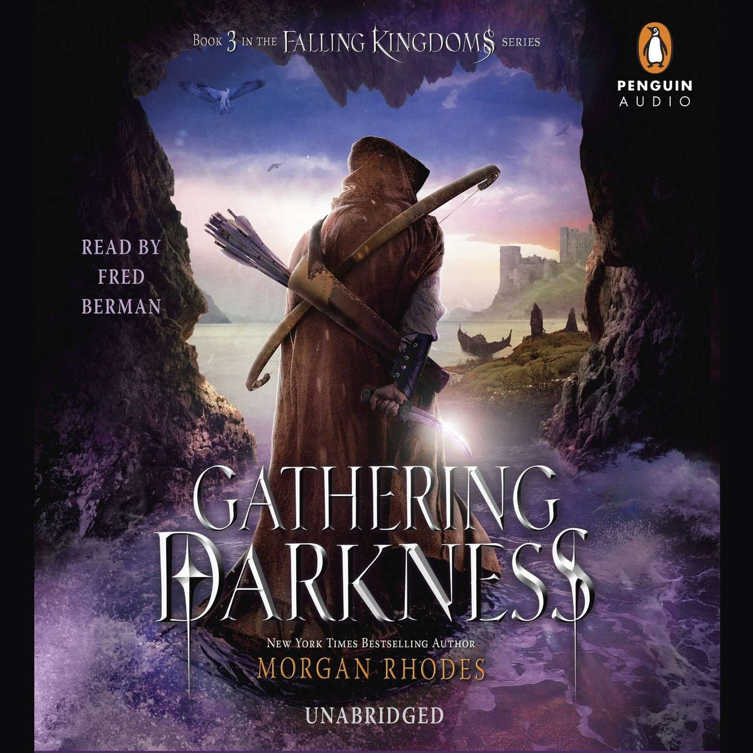 Printable Gathering Darkness: A Falling Kingdoms Novel Audiobook Cover Art