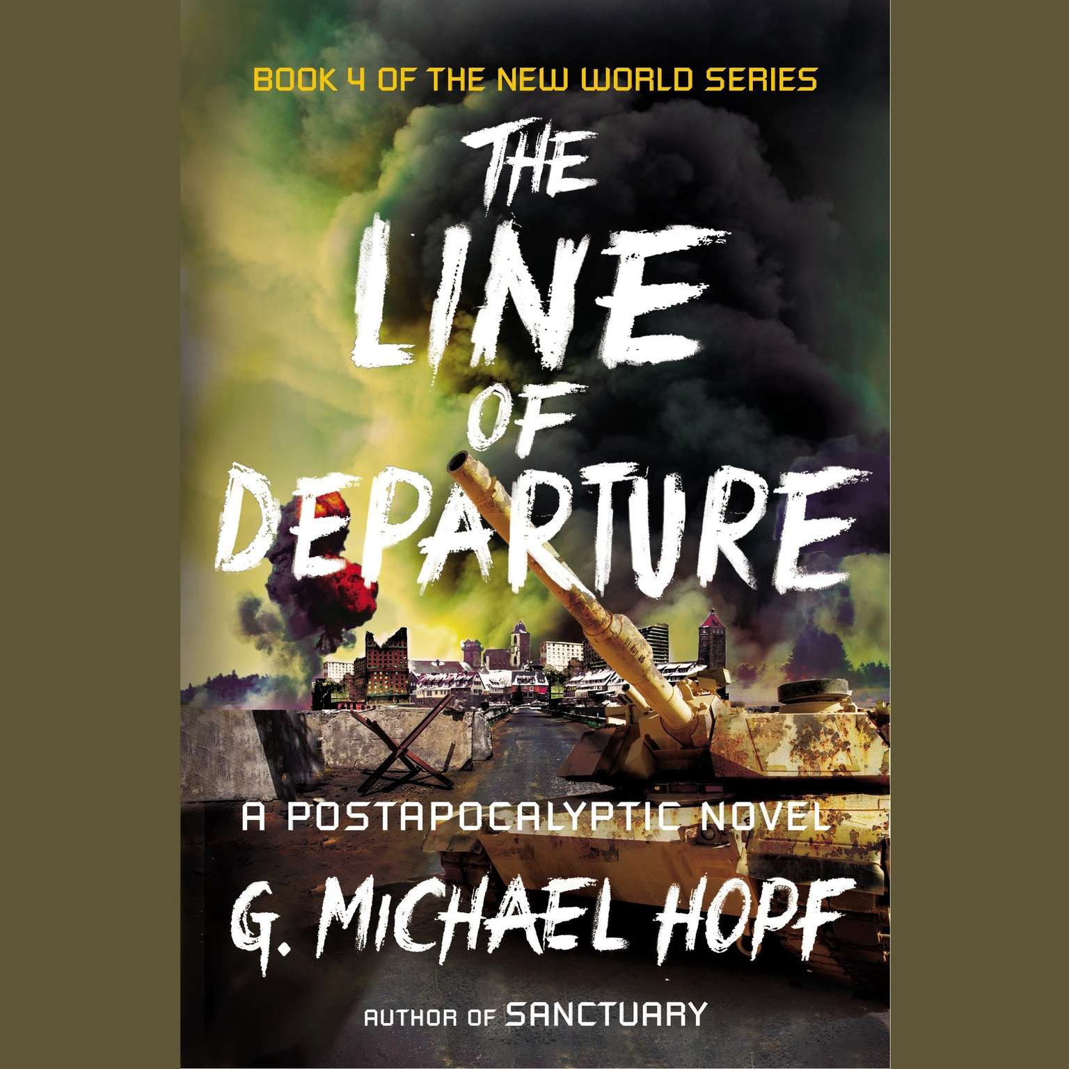 Printable The Line of Departure: A Postapocalyptic Novel Audiobook Cover Art