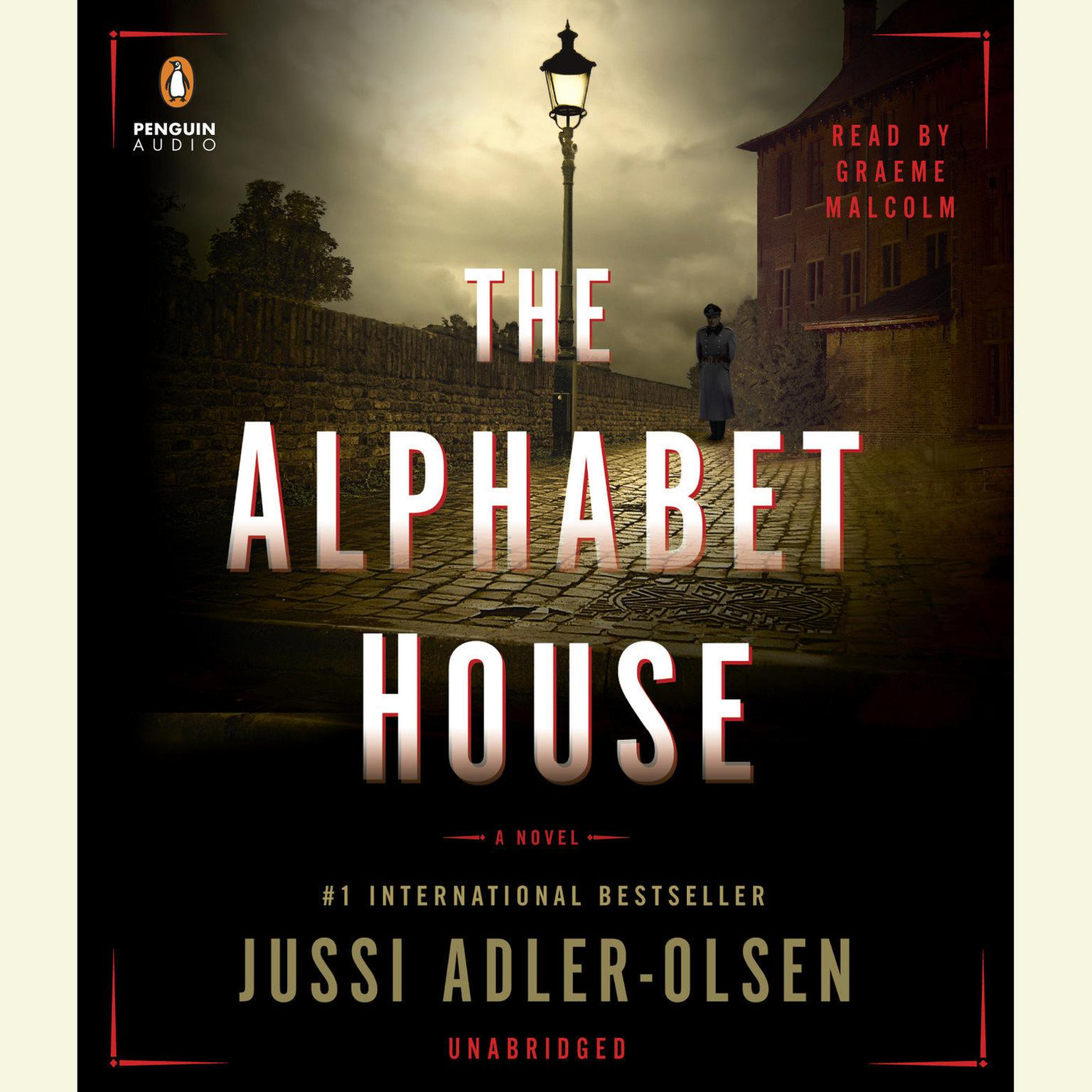 Printable The Alphabet House Audiobook Cover Art