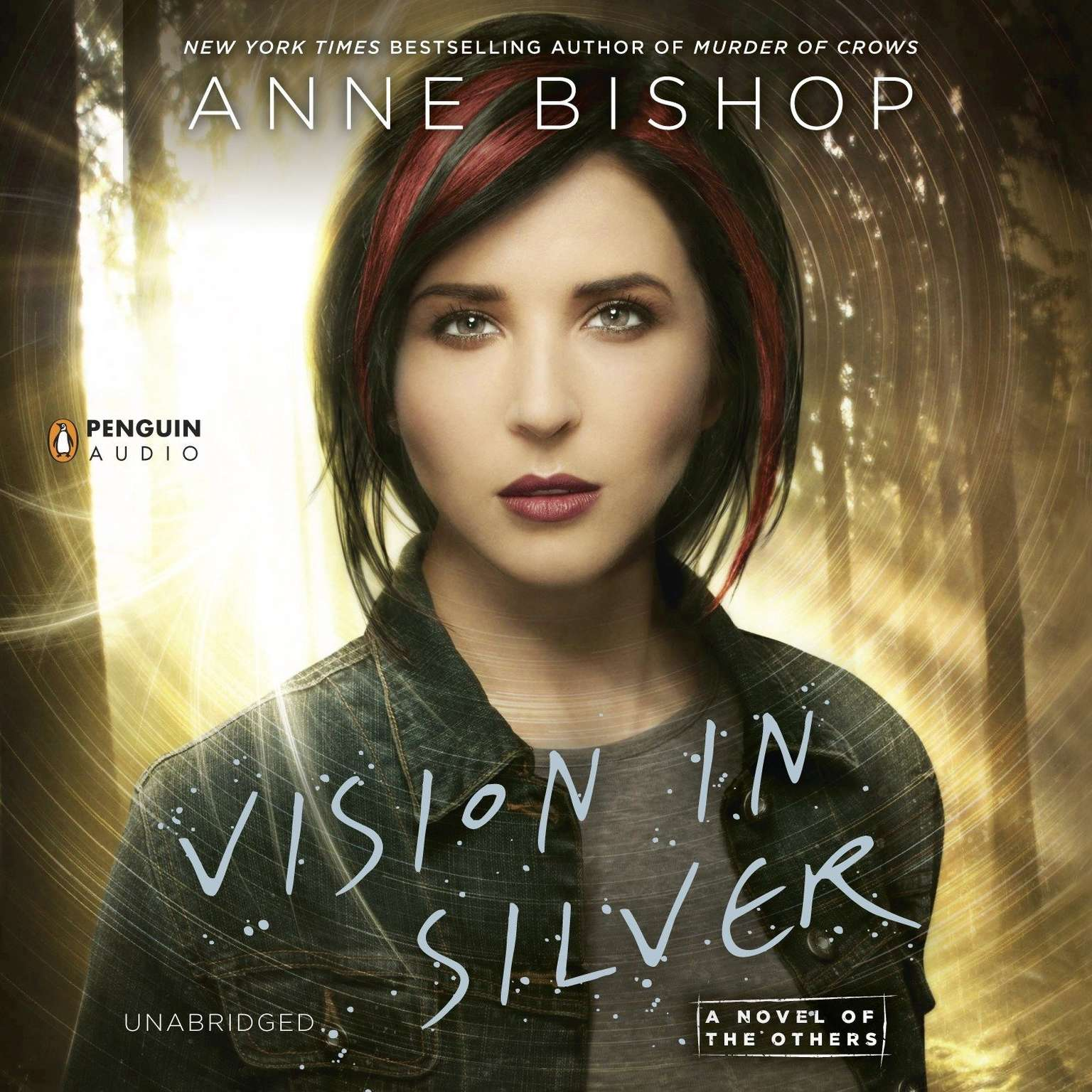 Printable Vision in Silver: A Novel of the Others Audiobook Cover Art