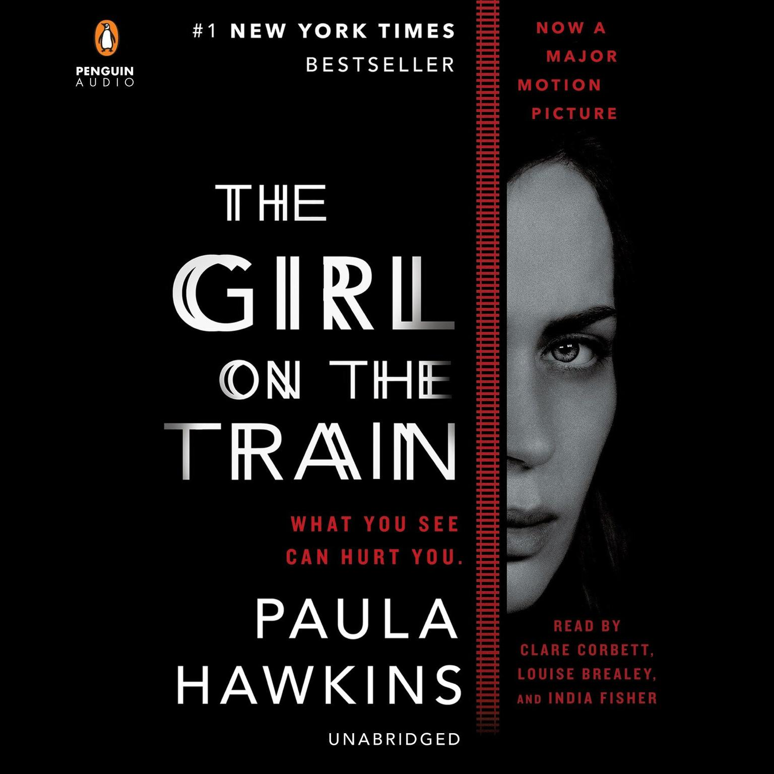 Printable The Girl on the Train: A Novel Audiobook Cover Art