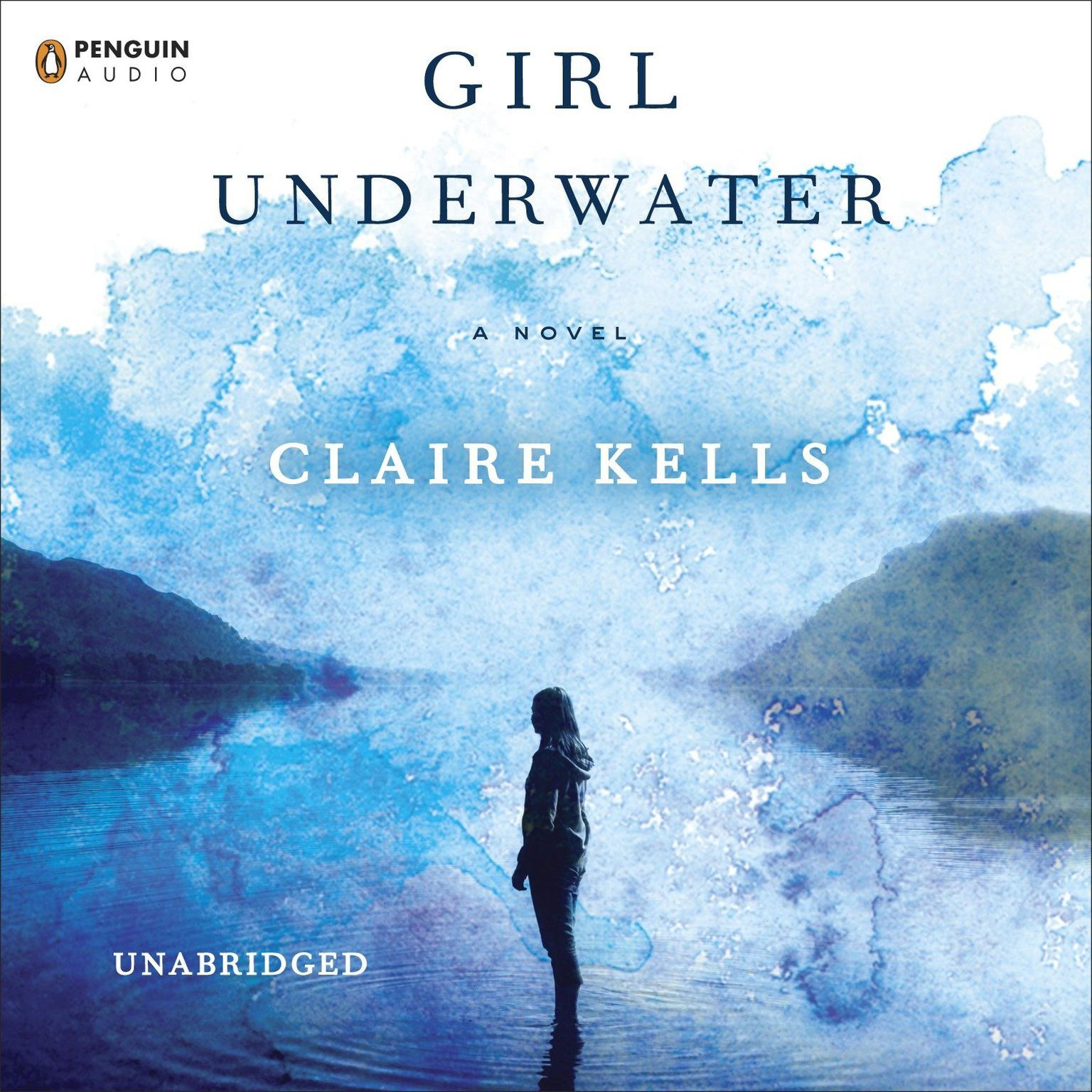 Printable Girl Underwater Audiobook Cover Art