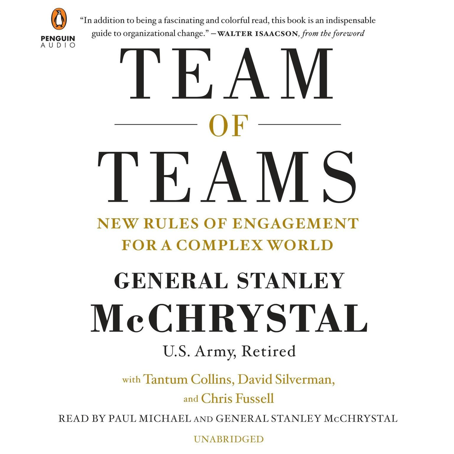 Printable Team of Teams: New Rules of Engagement for a Complex World Audiobook Cover Art