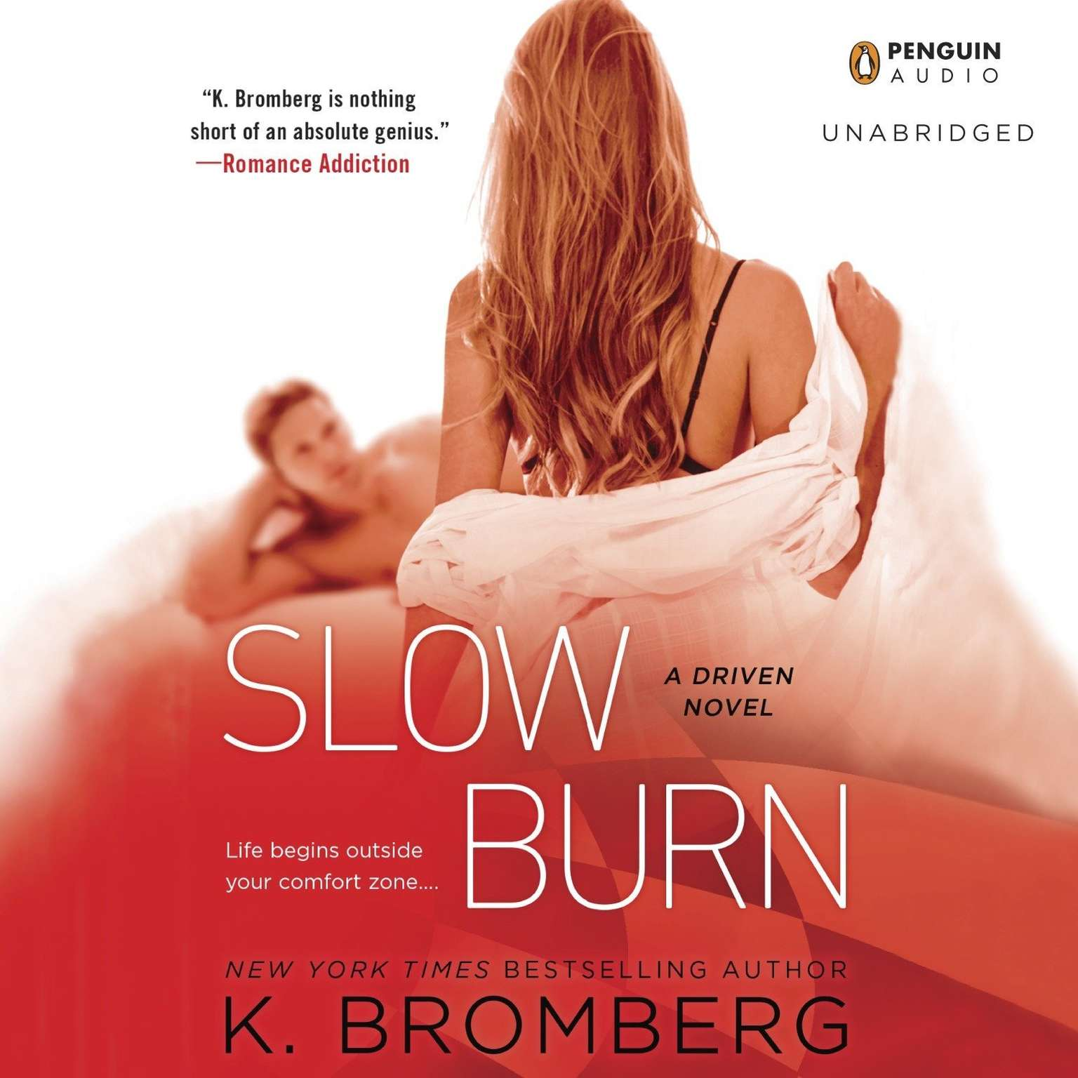 Printable Slow Burn: A Driven Novel Audiobook Cover Art