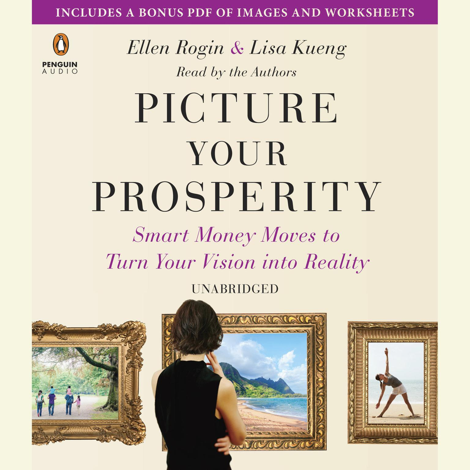 Printable Picture Your Prosperity: Smart Money Moves to Turn Your Vision into Reality Audiobook Cover Art
