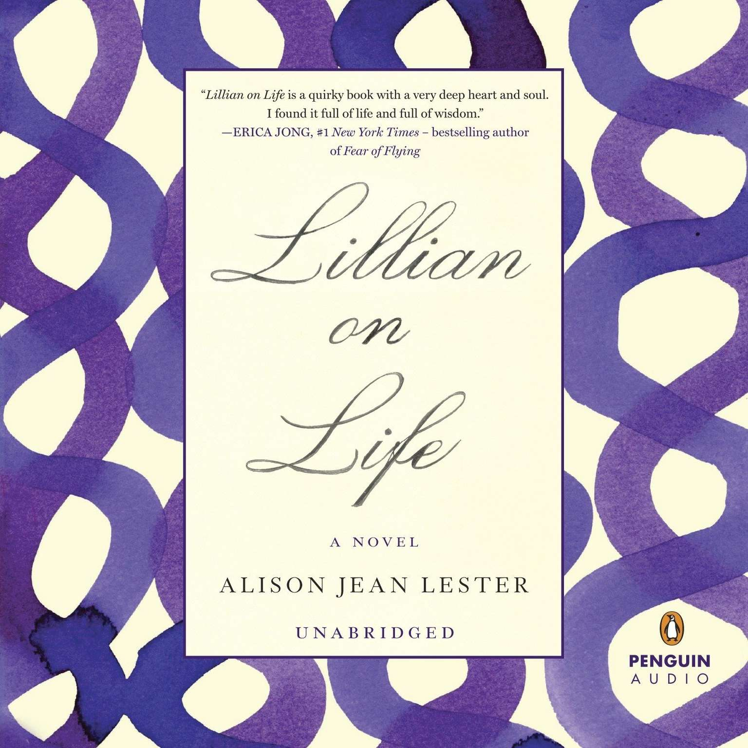 Printable Lillian on Life Audiobook Cover Art