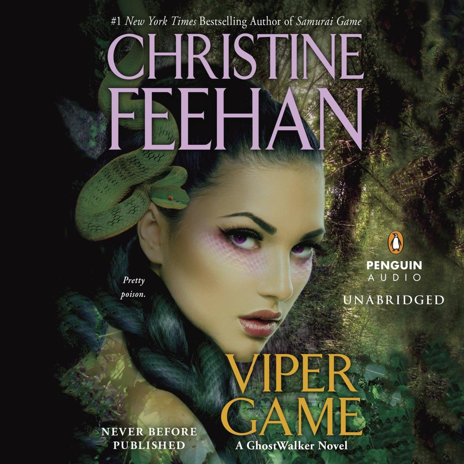 Printable Viper Game Audiobook Cover Art