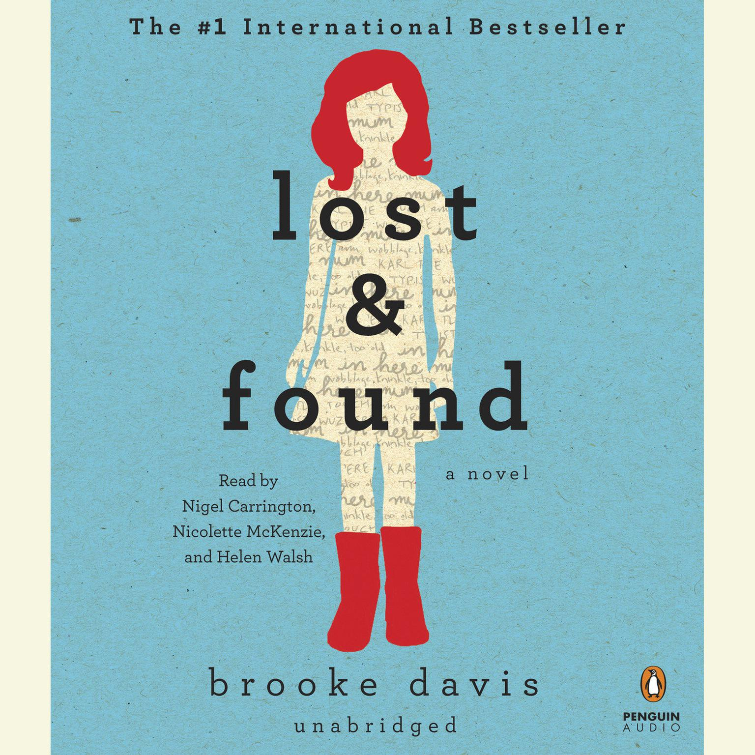 Printable Lost & Found Audiobook Cover Art