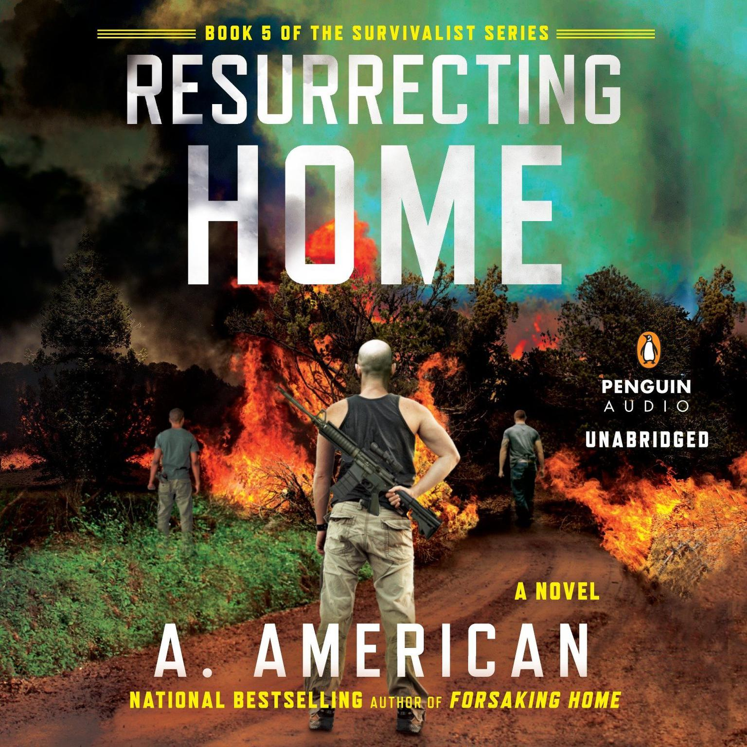 Printable Resurrecting Home: A Novel Audiobook Cover Art