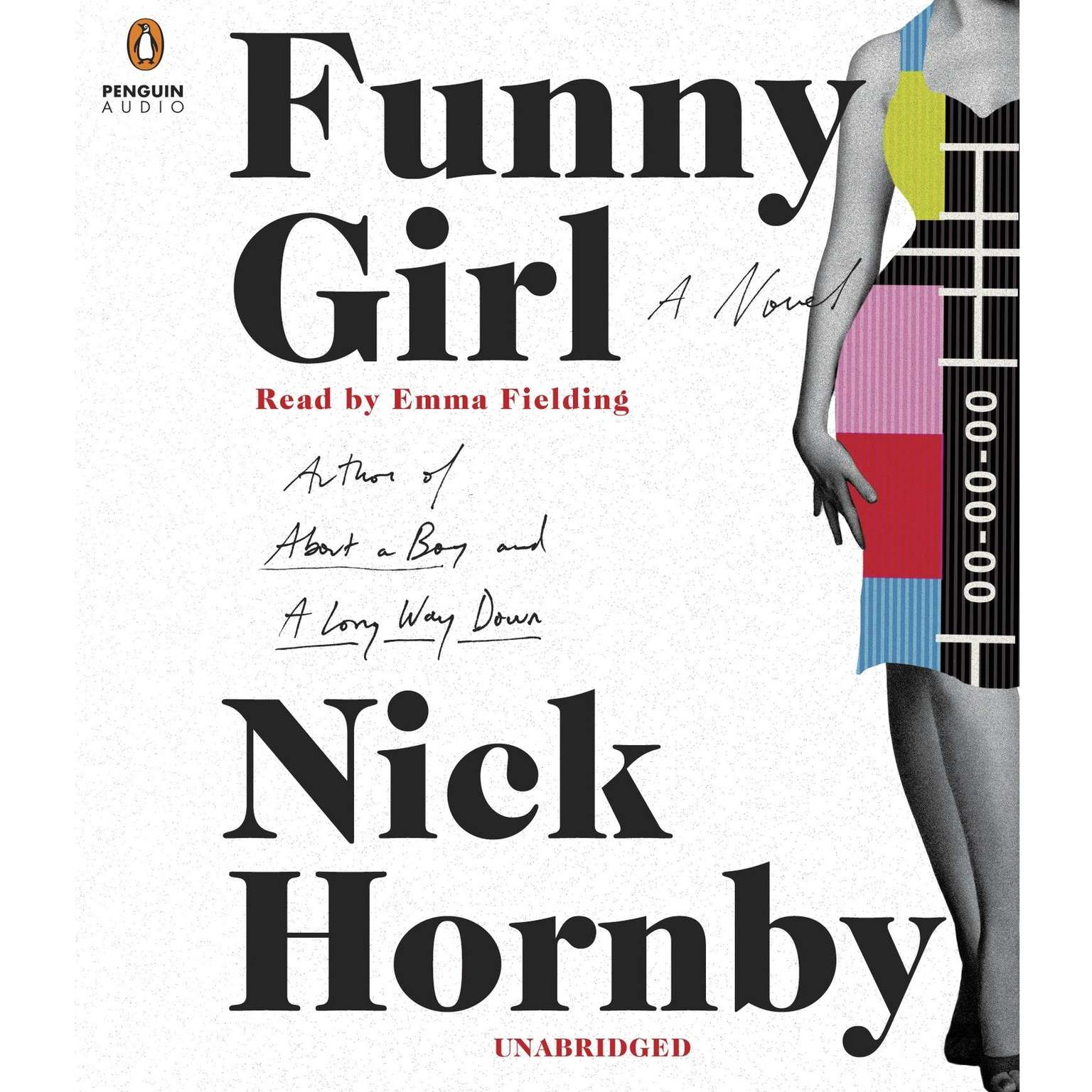 Printable Funny Girl: A Novel Audiobook Cover Art