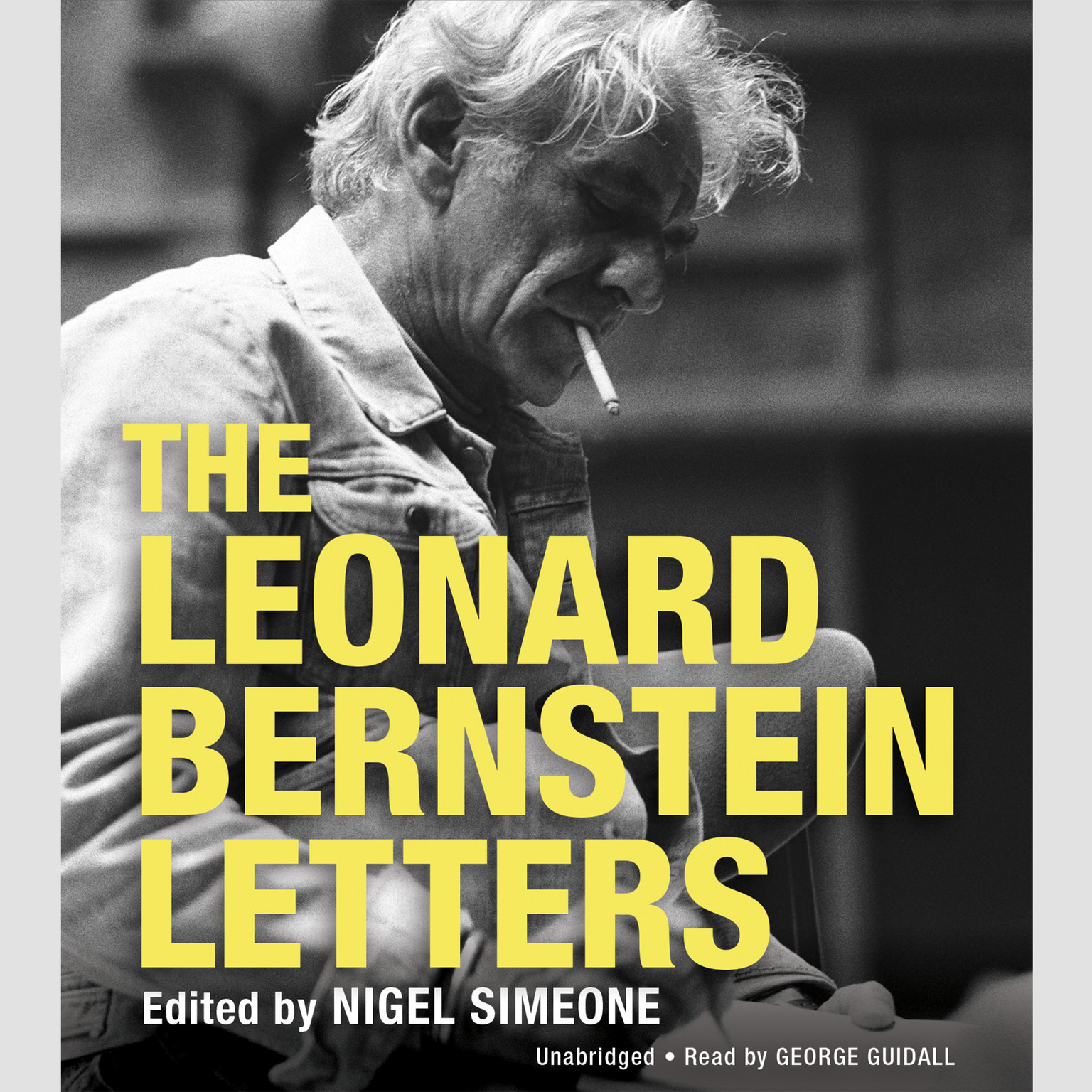 Printable The Leonard Bernstein Letters Audiobook Cover Art